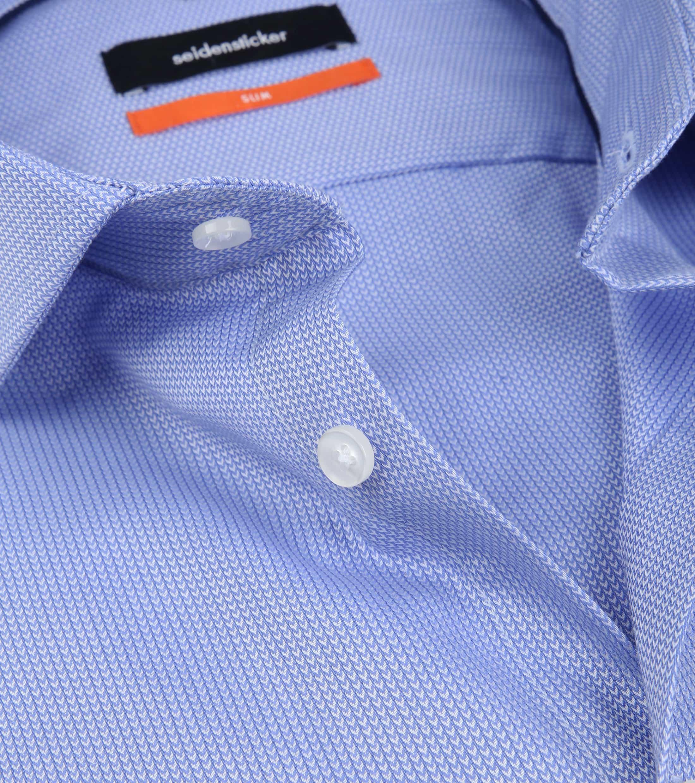 Seidensticker Overhemd SF Herring Blue foto 1