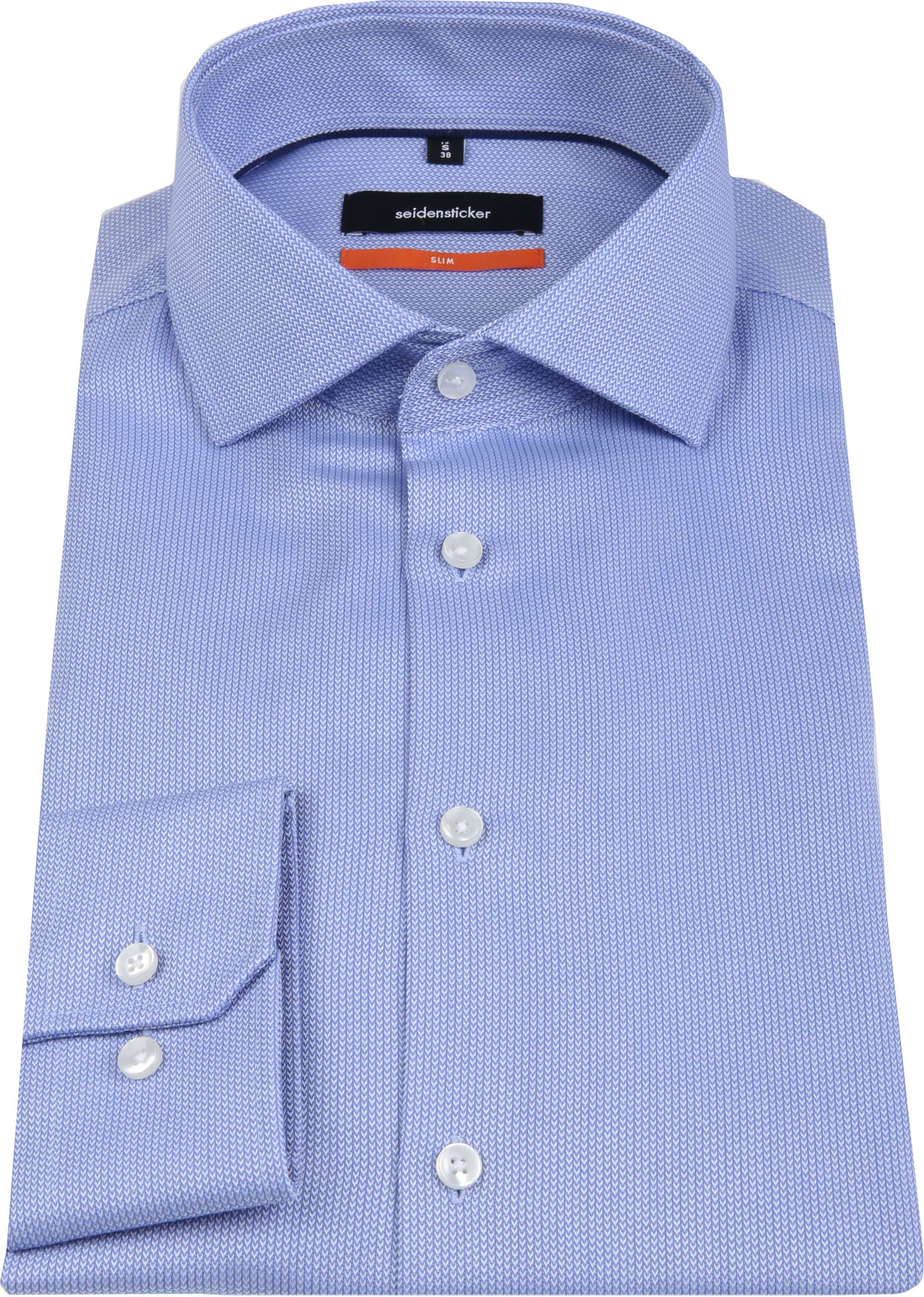 Seidensticker Overhemd SF Herring Blue foto 3