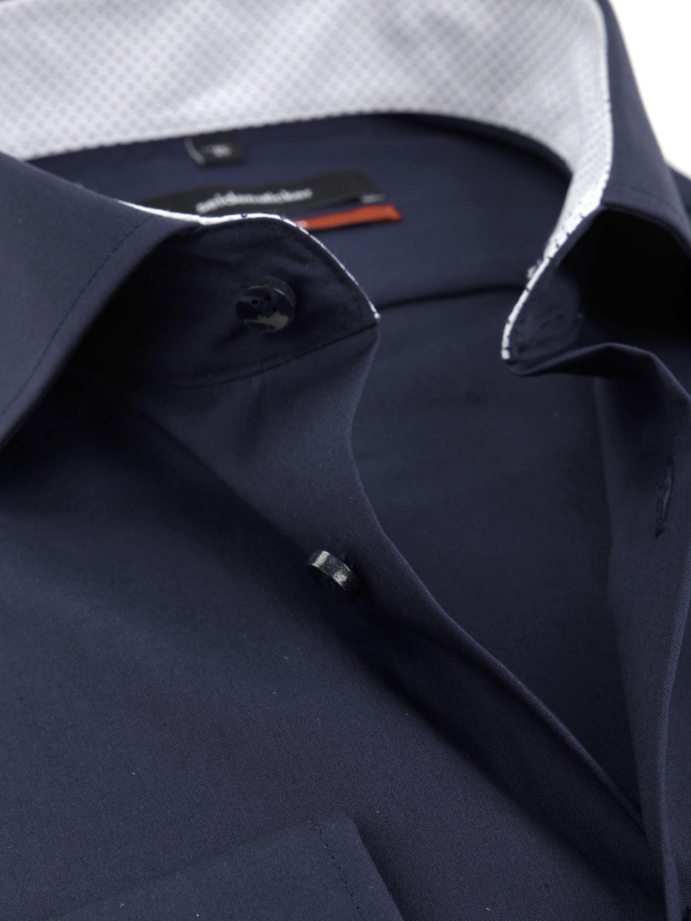 Seidensticker Overhemd SF Navy foto 1
