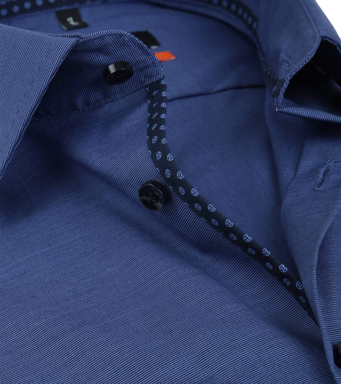 Seidensticker Overhemd Slim-Fit Navy foto 1