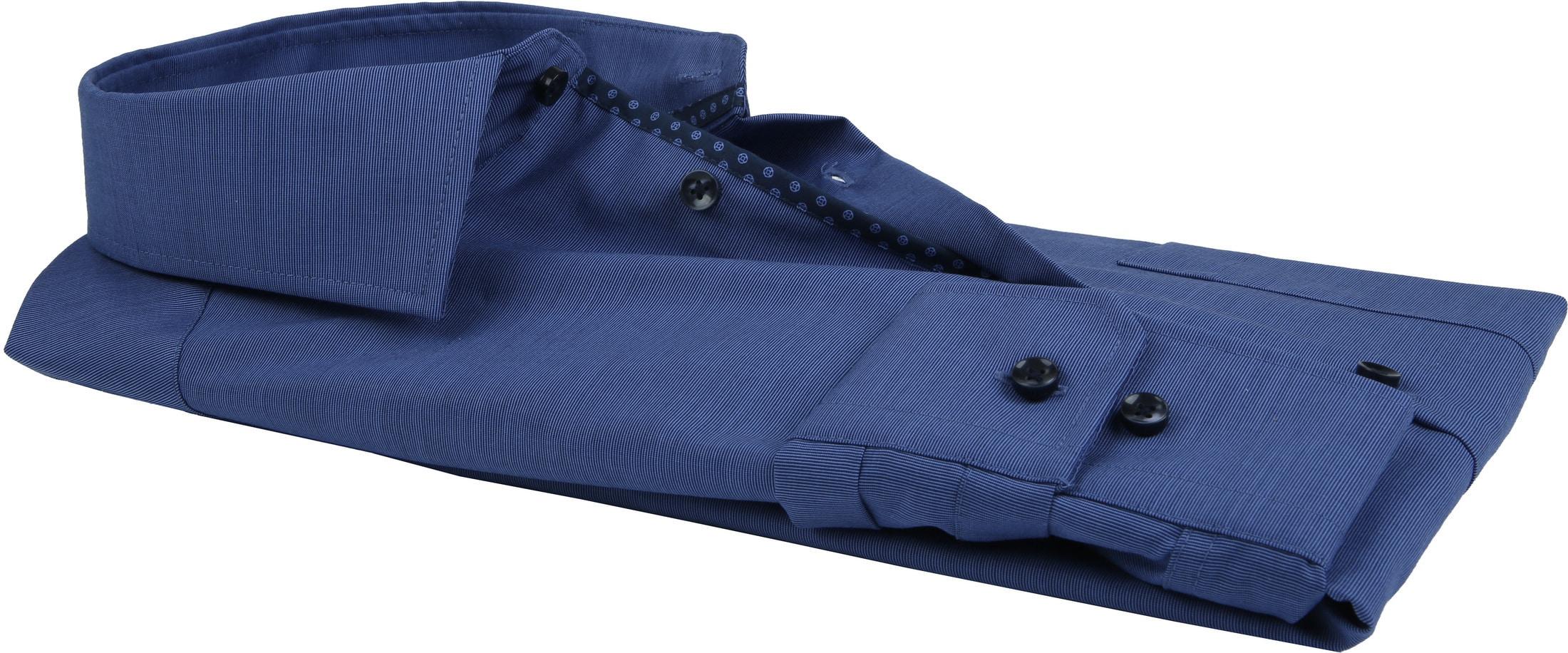 Seidensticker Overhemd Slim-Fit Navy foto 2
