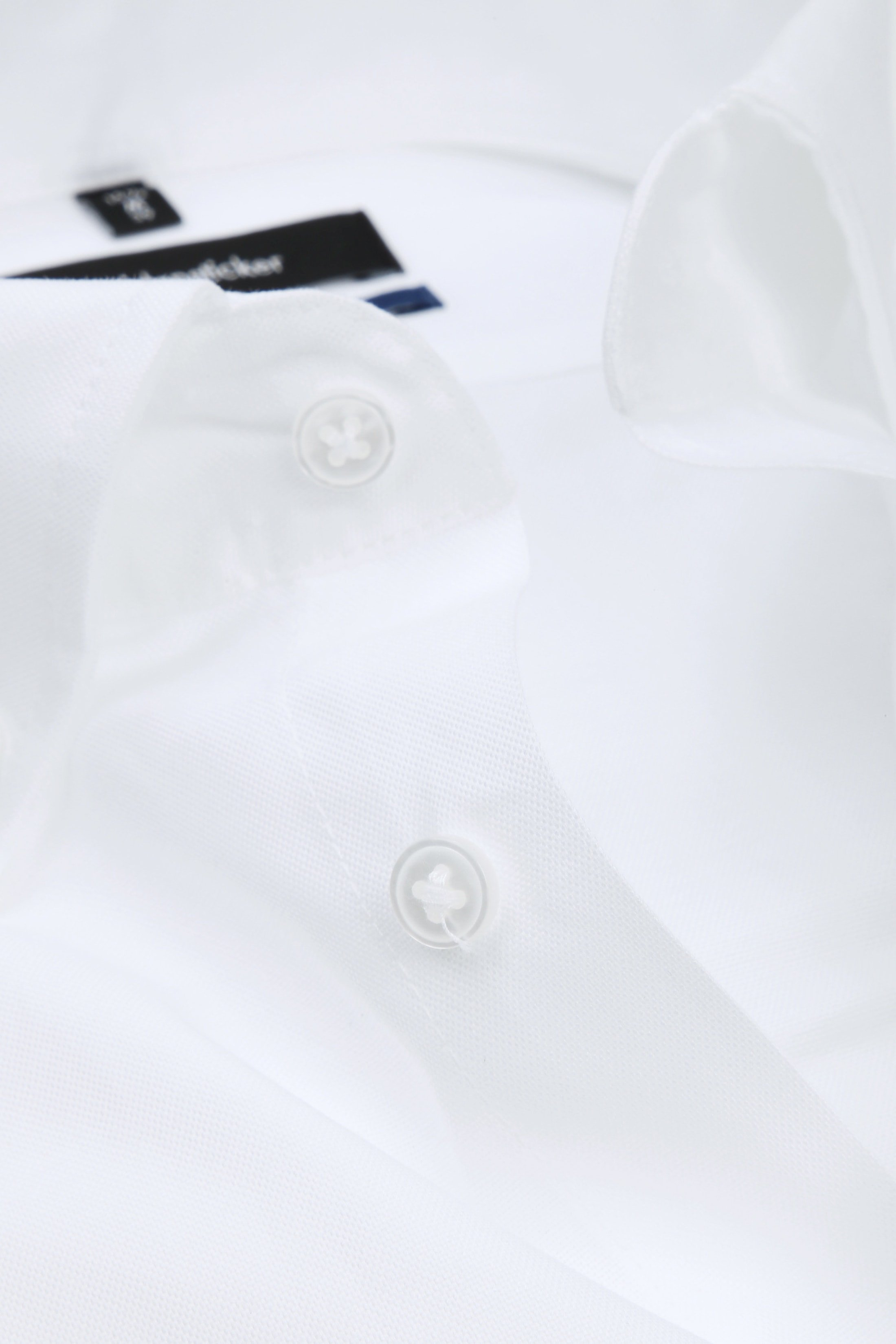 Seidensticker Overhemd TF Button Down Wit foto 1