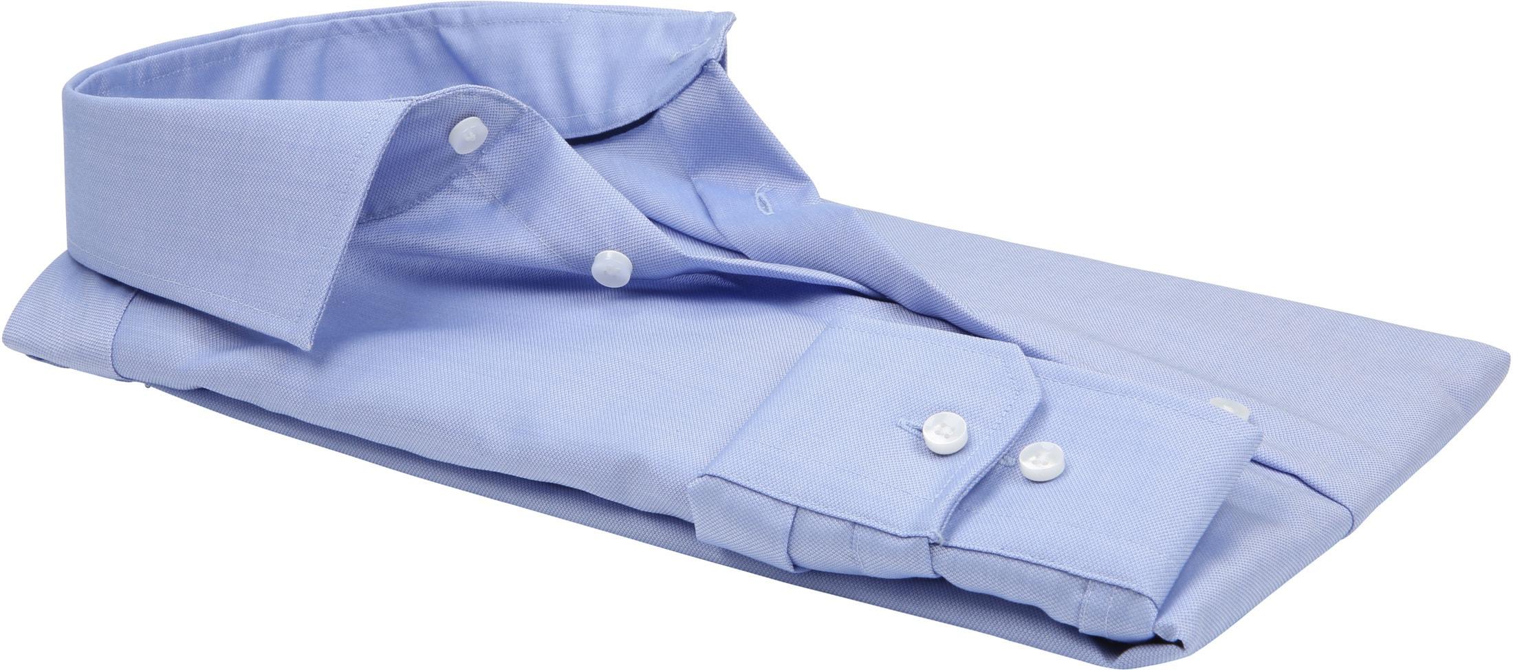 Seidensticker Overhemd TF Dessin Blauw foto 2