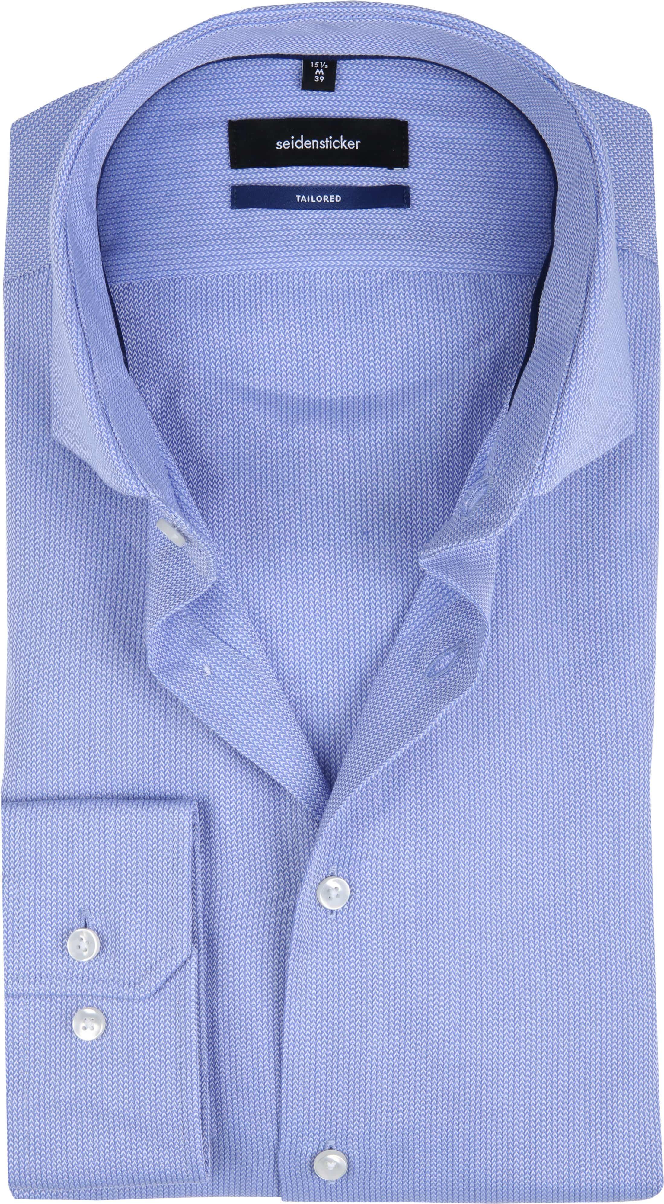 Seidensticker Overhemd TF Herring Blue foto 0