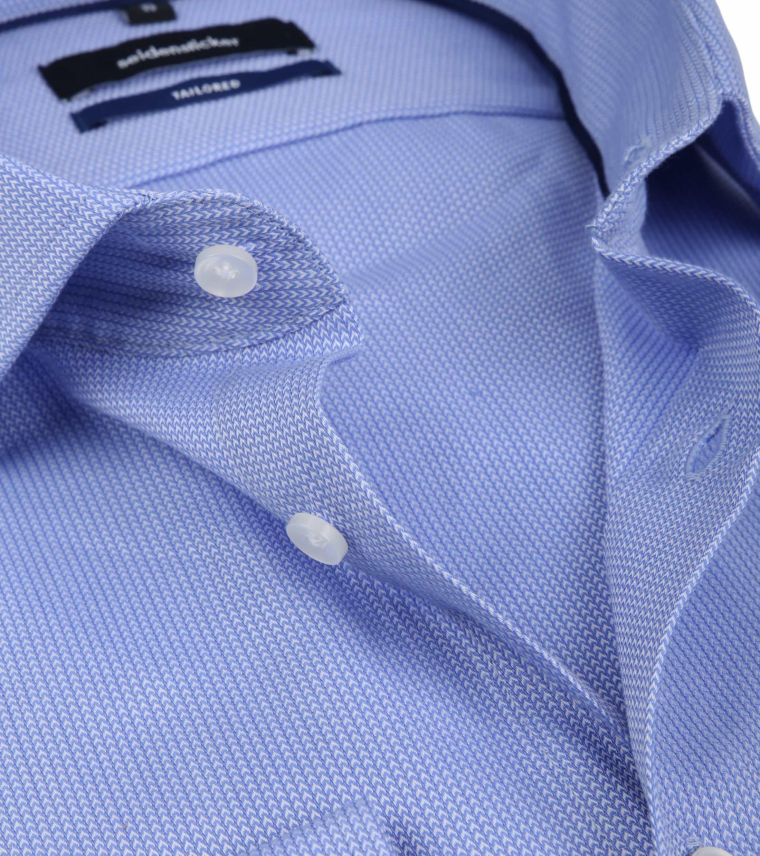 Seidensticker Overhemd TF Herring Blue foto 1