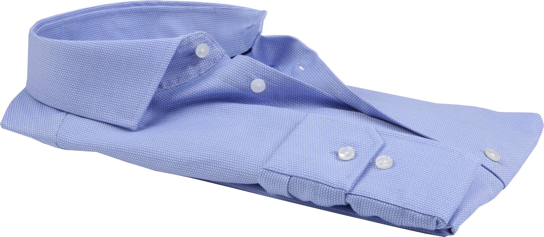 Seidensticker Overhemd TF Herring Blue foto 2
