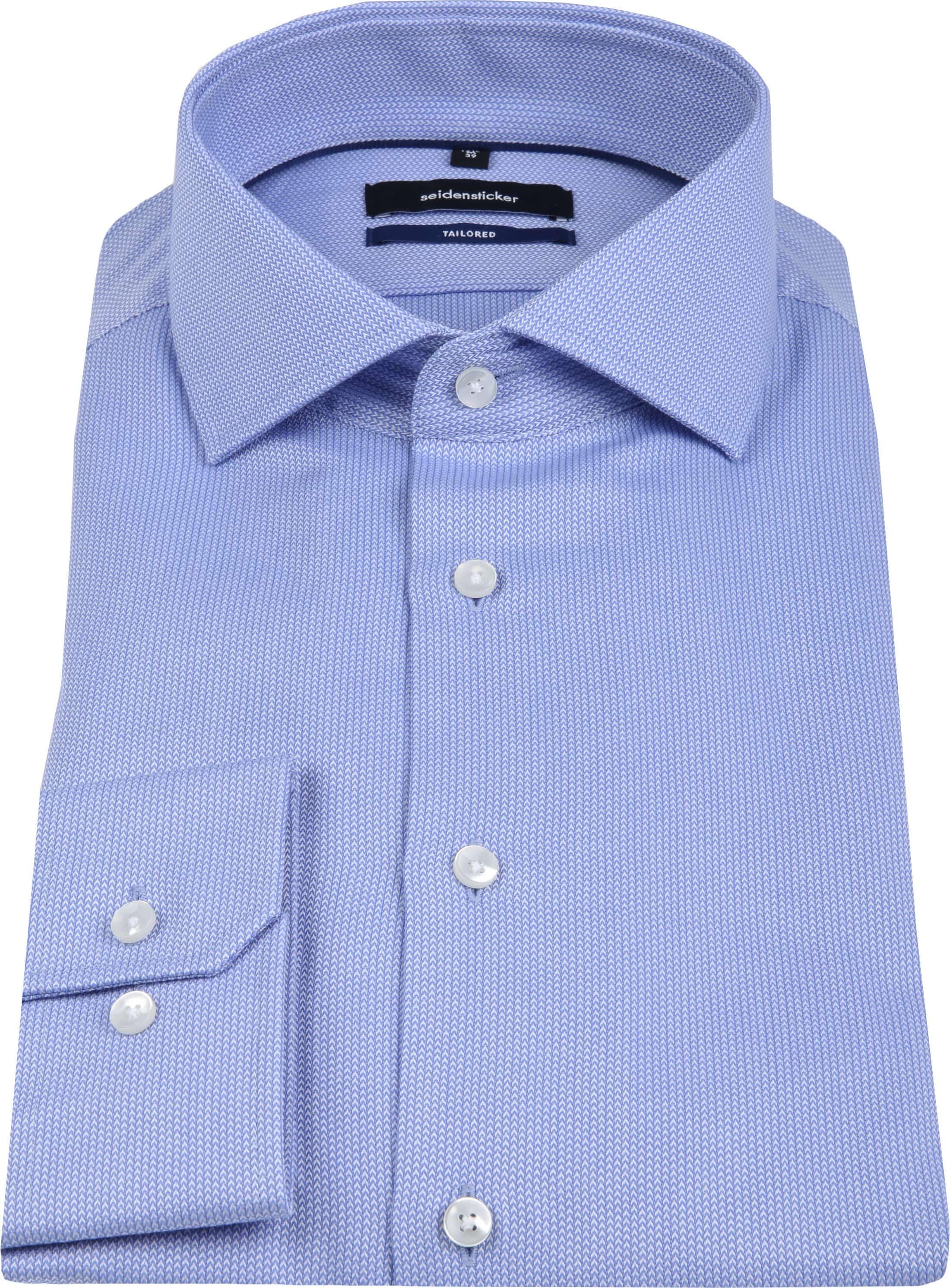 Seidensticker Overhemd TF Herring Blue foto 3