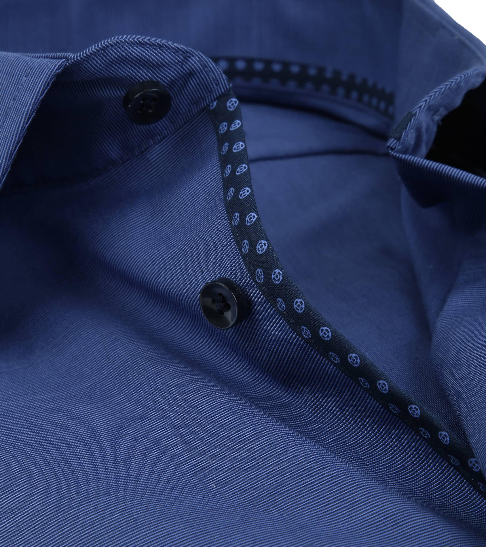 Seidensticker Overhemd TF Navy foto 1