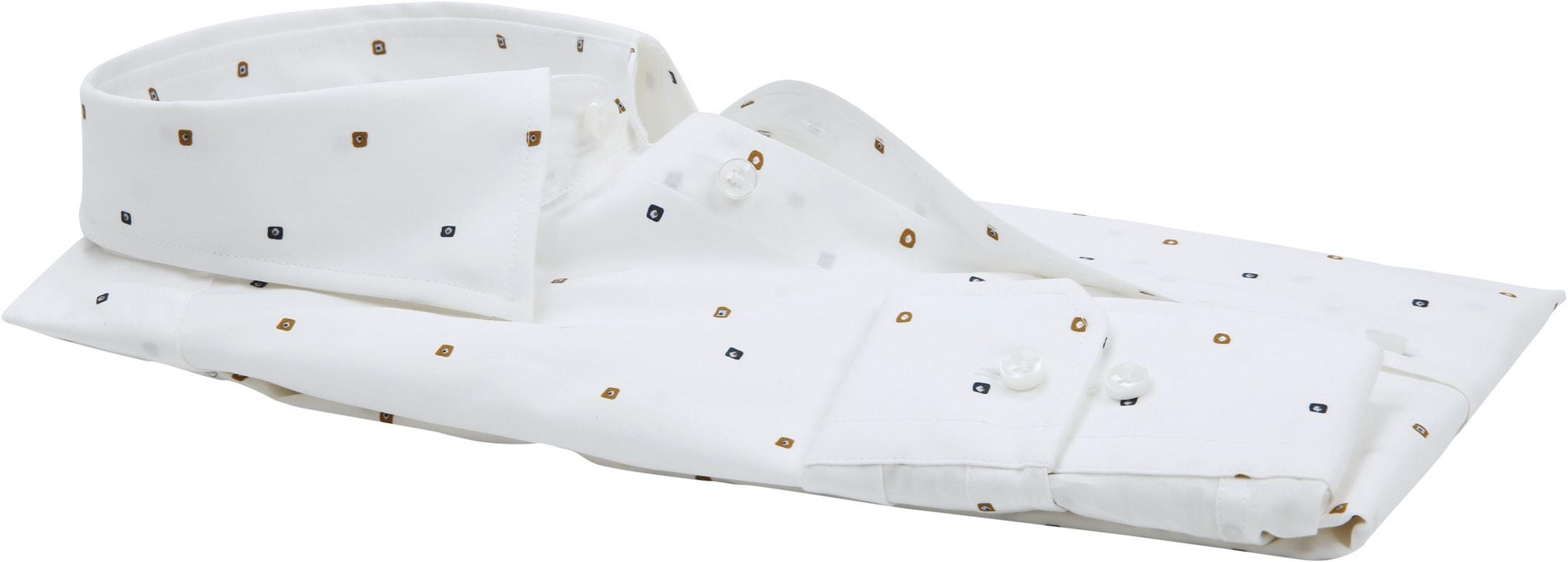 Seidensticker Overhemd TF Print Wit foto 2