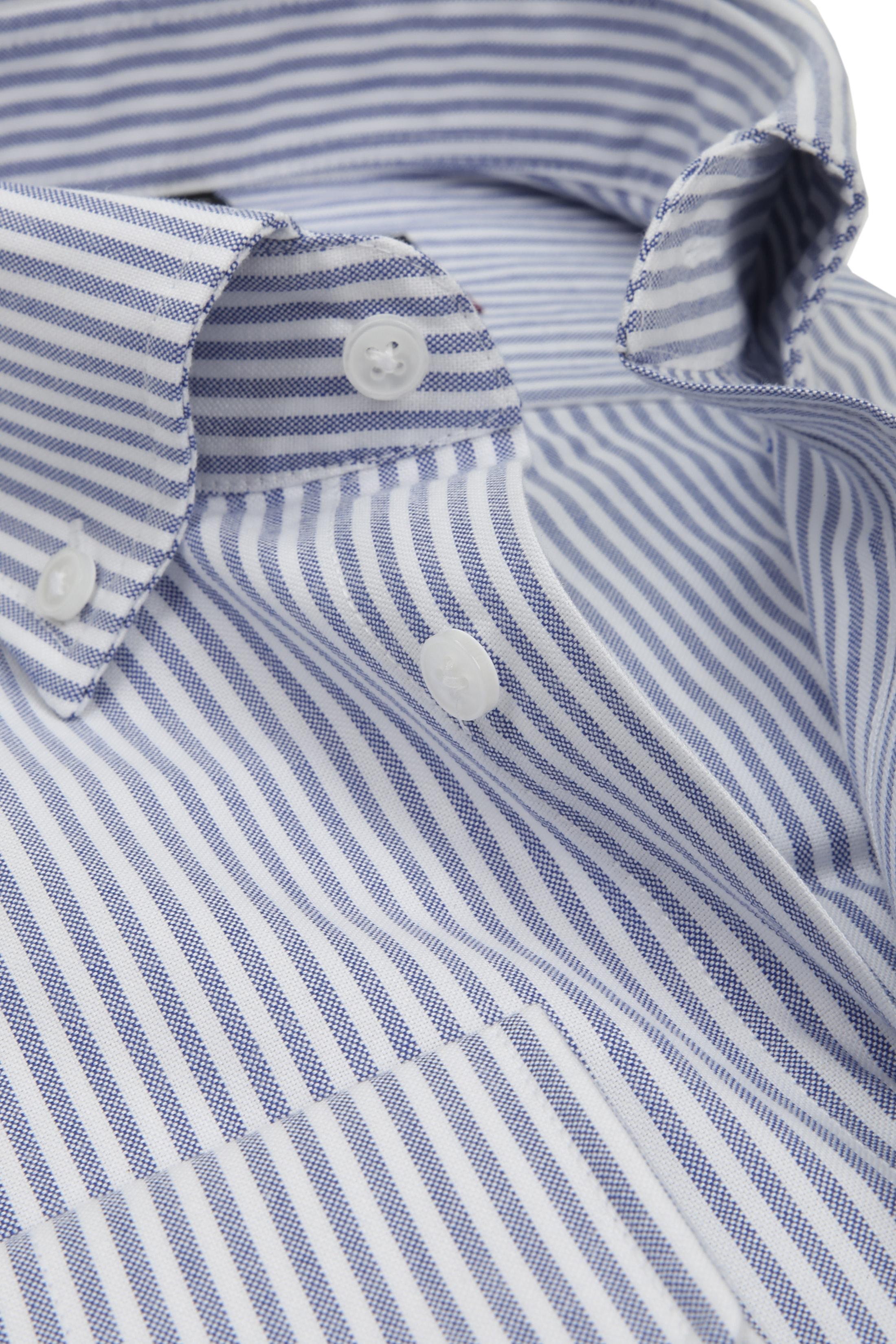 Seidensticker Overhemd TF Streep Blauw foto 2