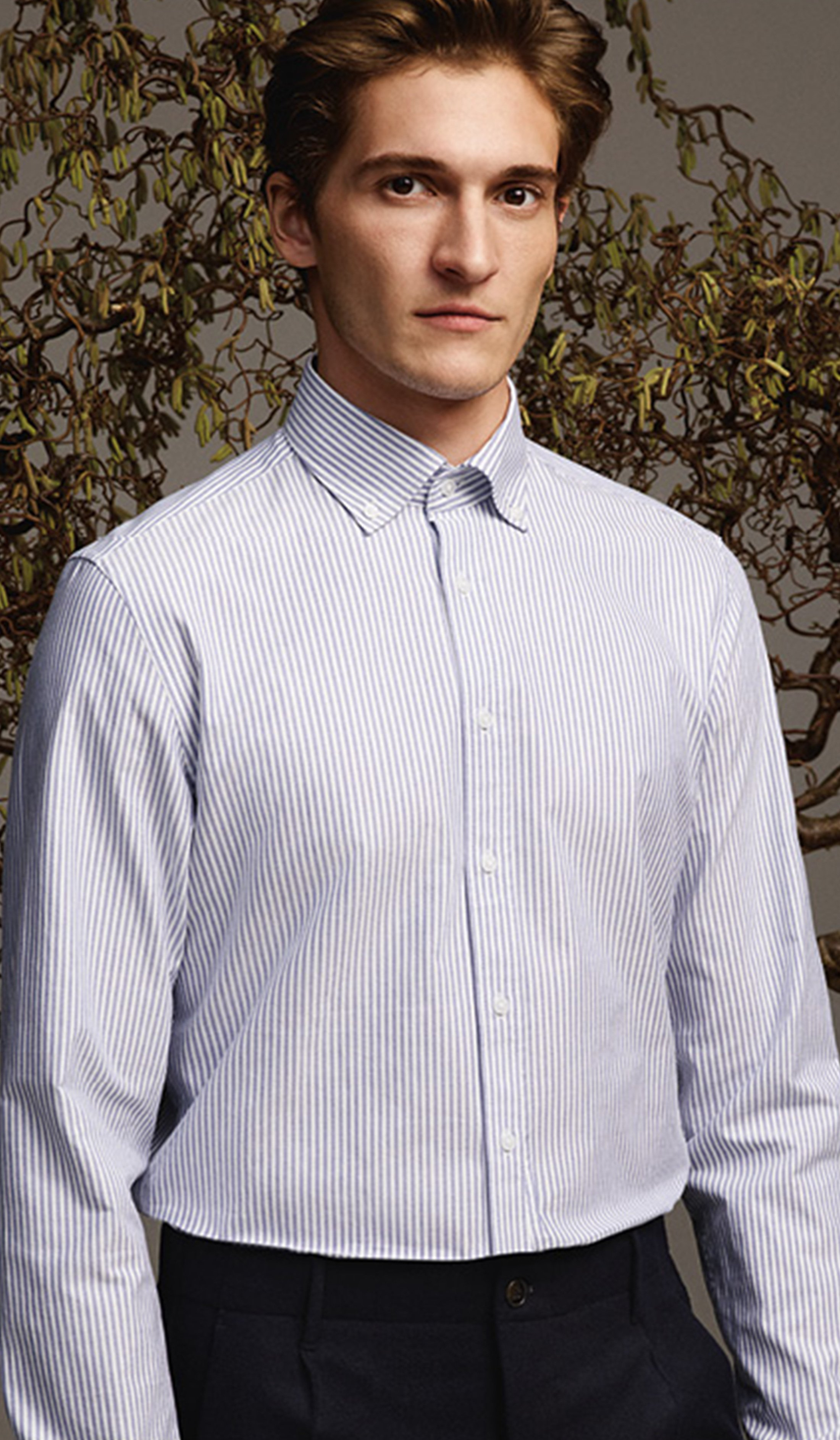 Seidensticker Overhemd TF Streep Blauw foto 1
