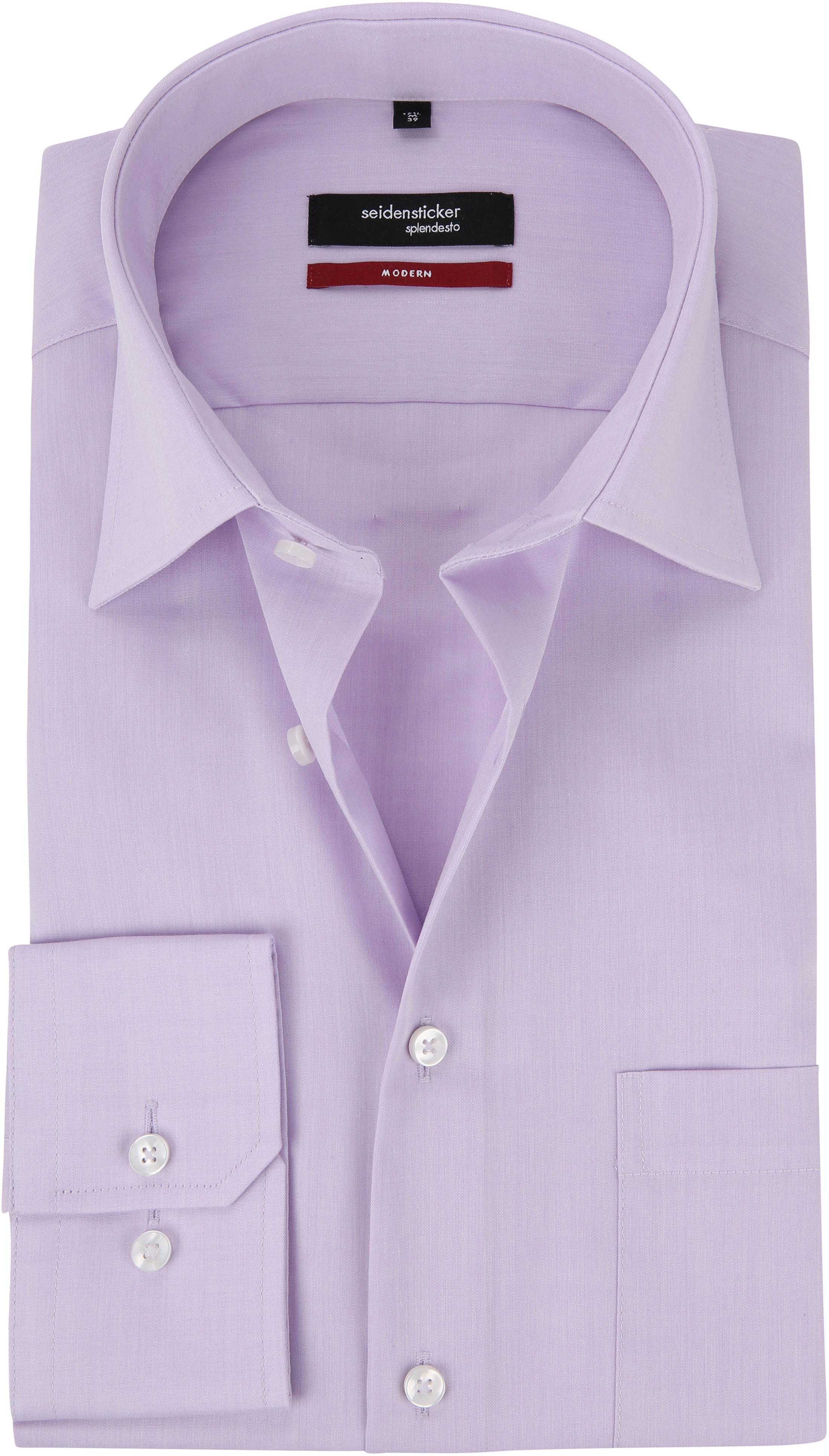 Seidensticker Shirt Lila