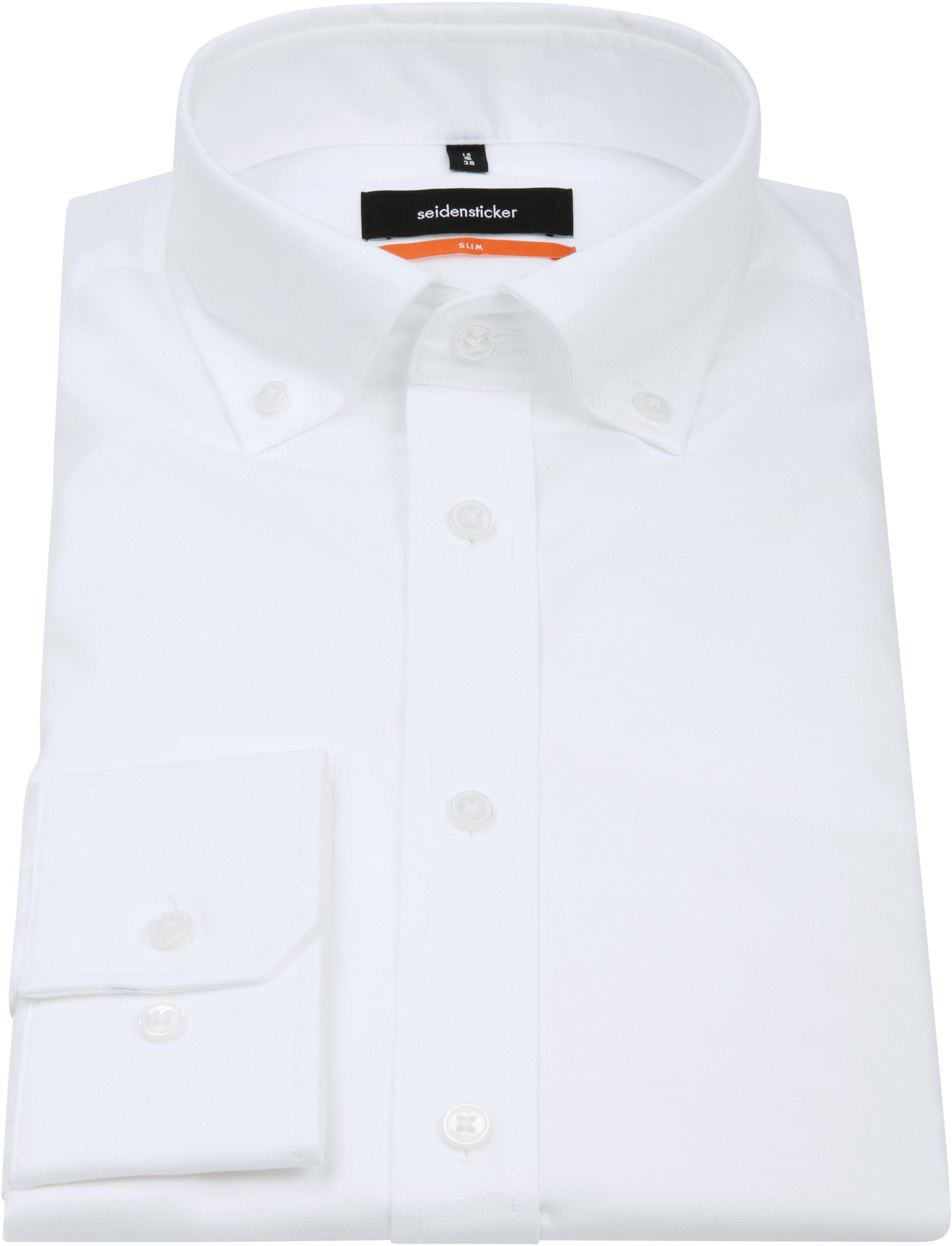 Seidensticker Shirt SF Button Down White foto 2