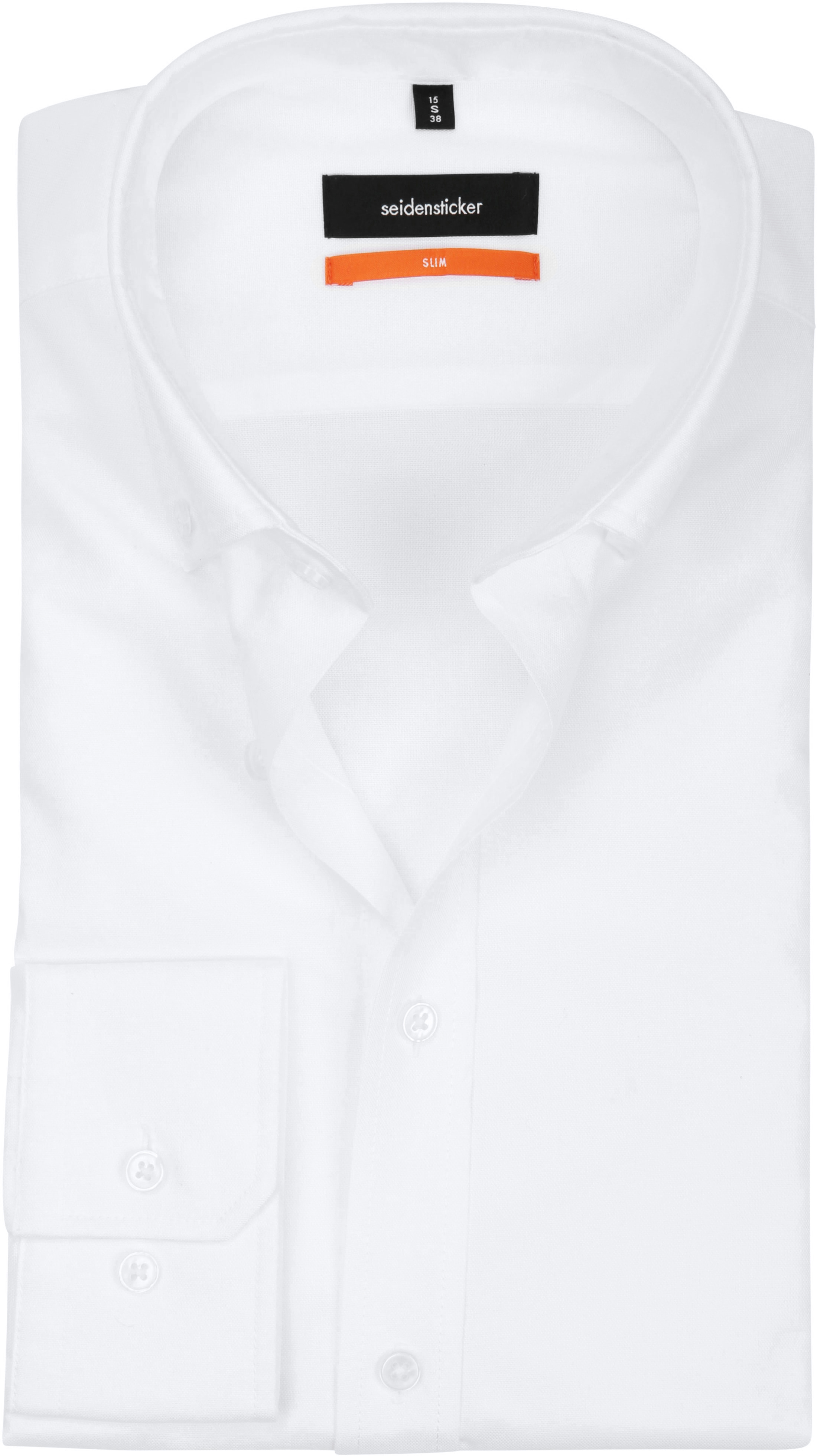 Seidensticker Shirt SF Button Down White foto 0