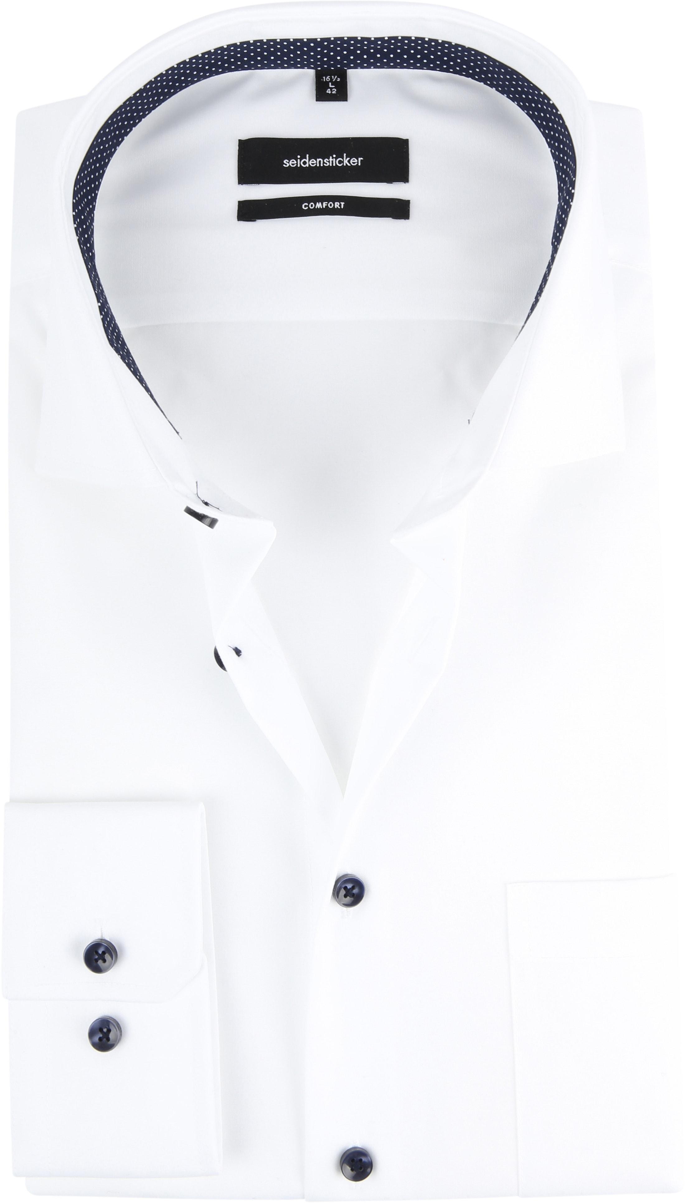 Seidensticker Shirt White CF photo 0
