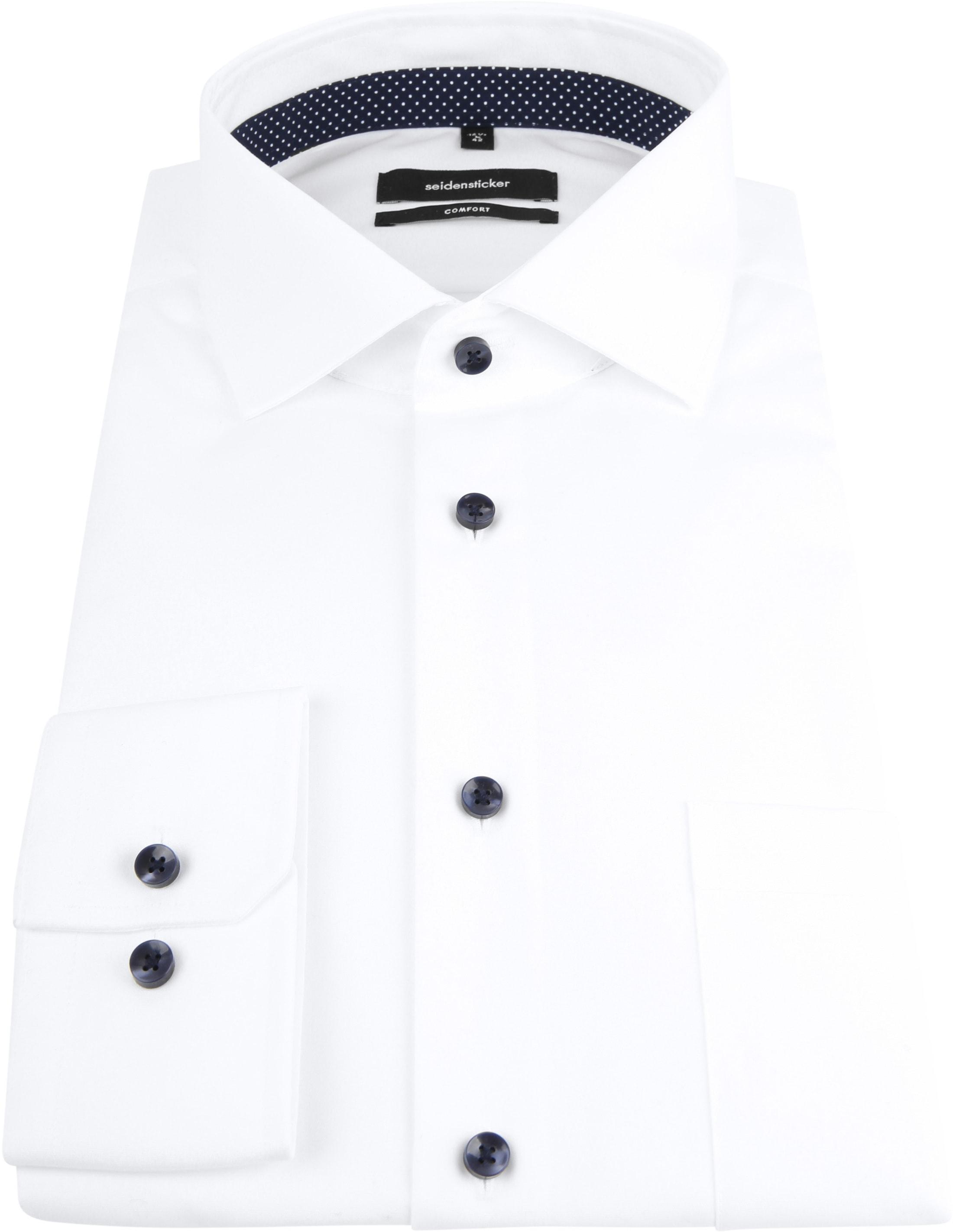 Seidensticker Shirt White CF photo 2