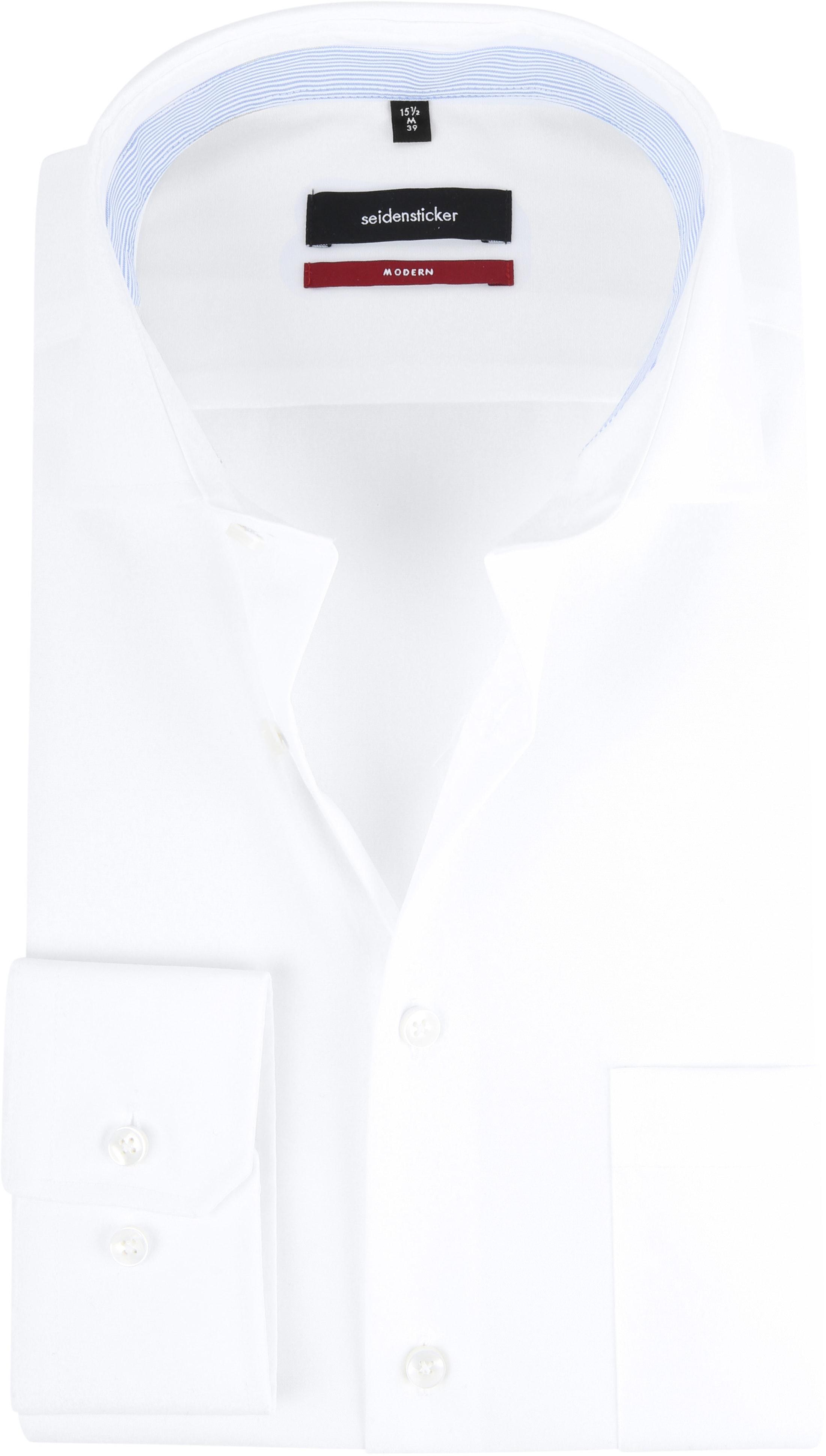 Seidensticker Shirt White MF foto 0