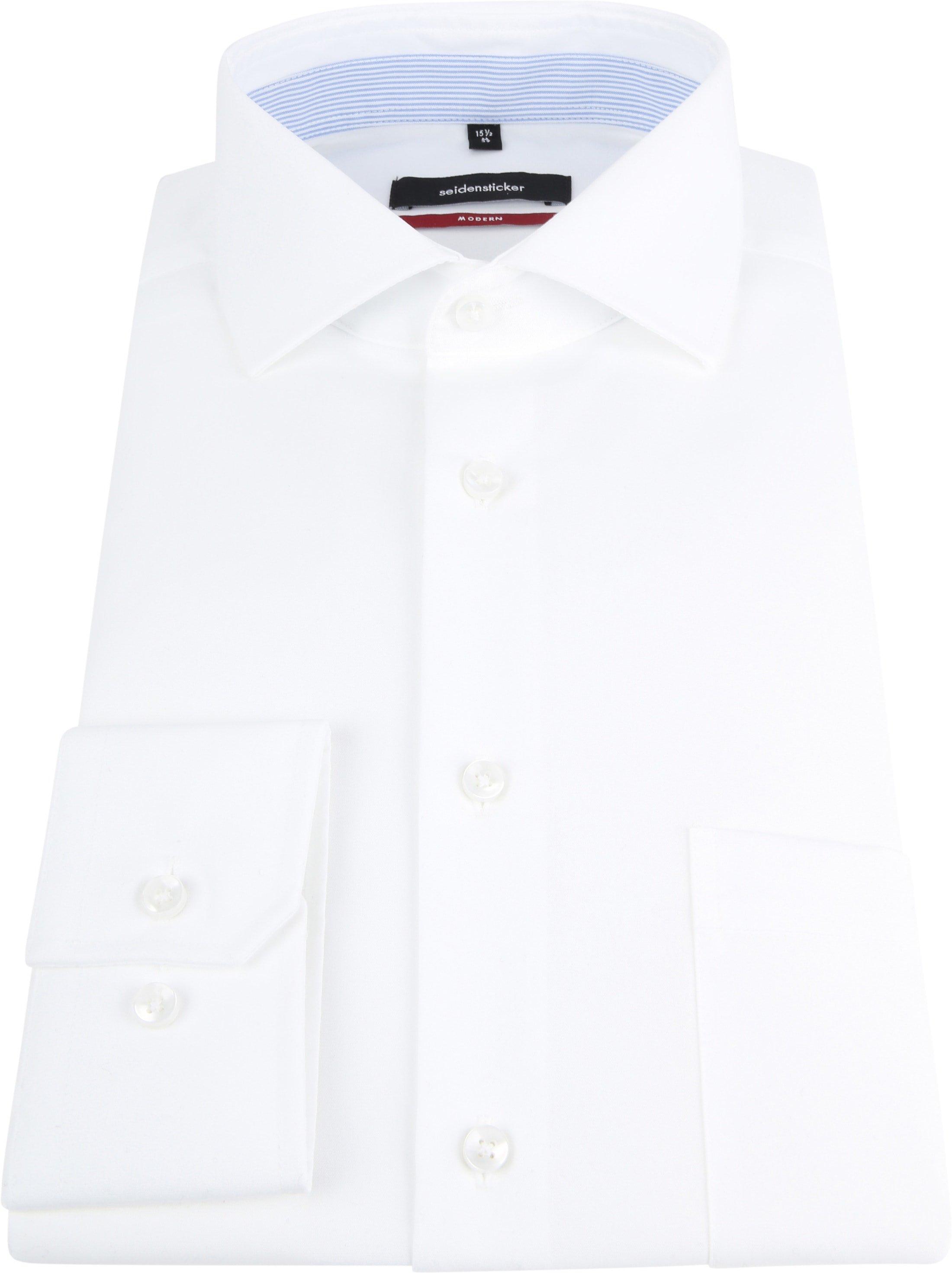 Seidensticker Shirt White MF foto 2