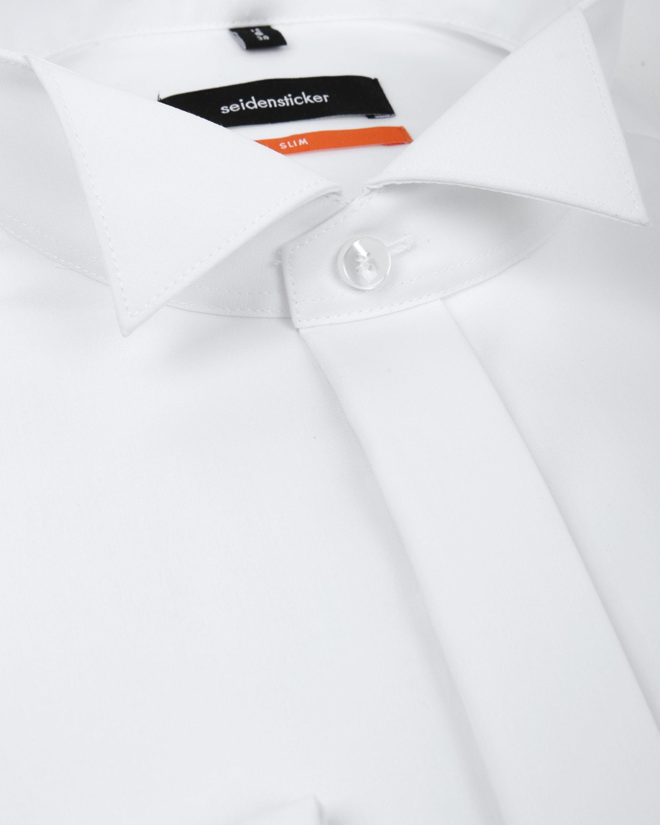 Seidensticker Smoking Shirt Wit foto 1