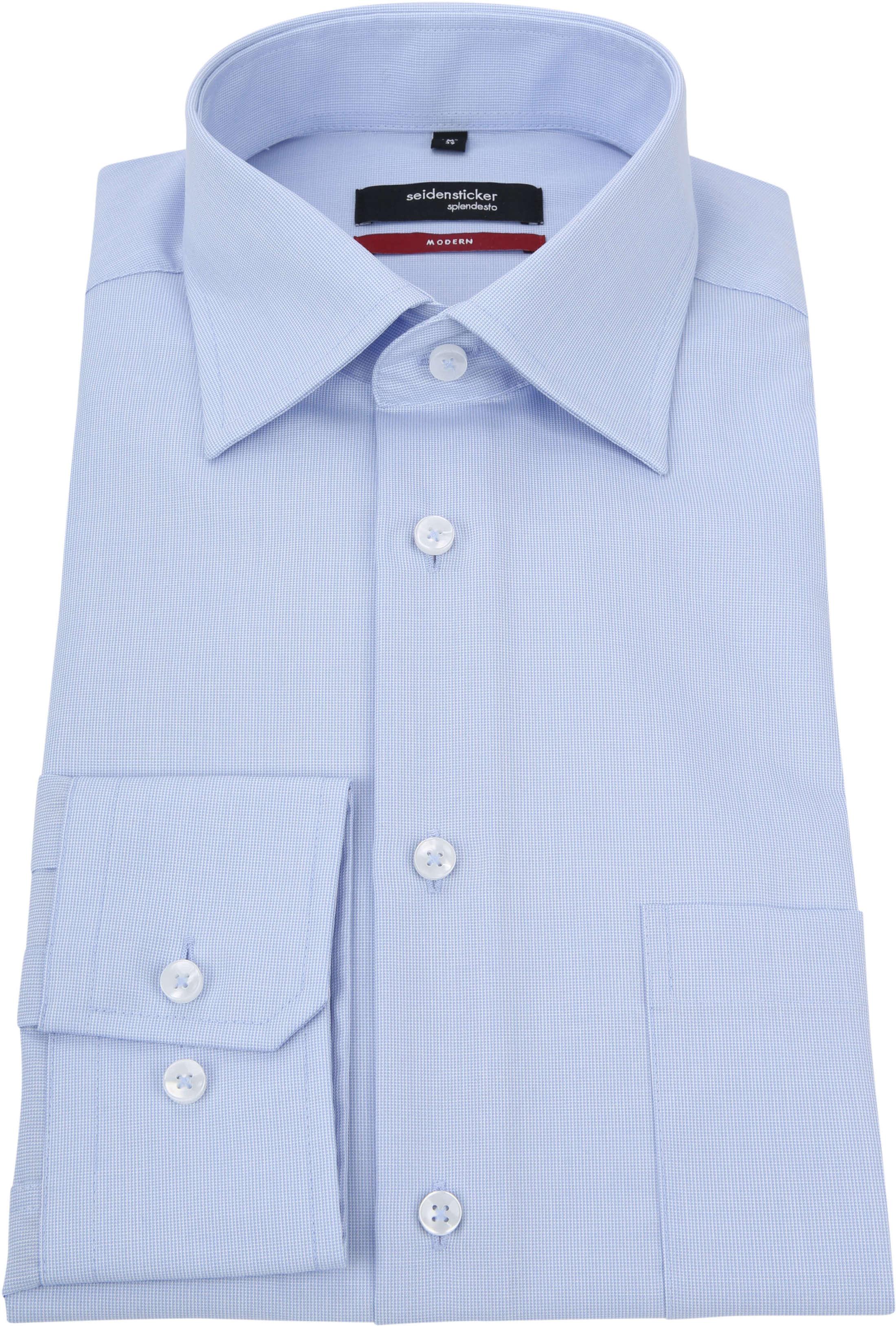 Seidensticker Splendesto Overhemd Lichtblauw foto 2