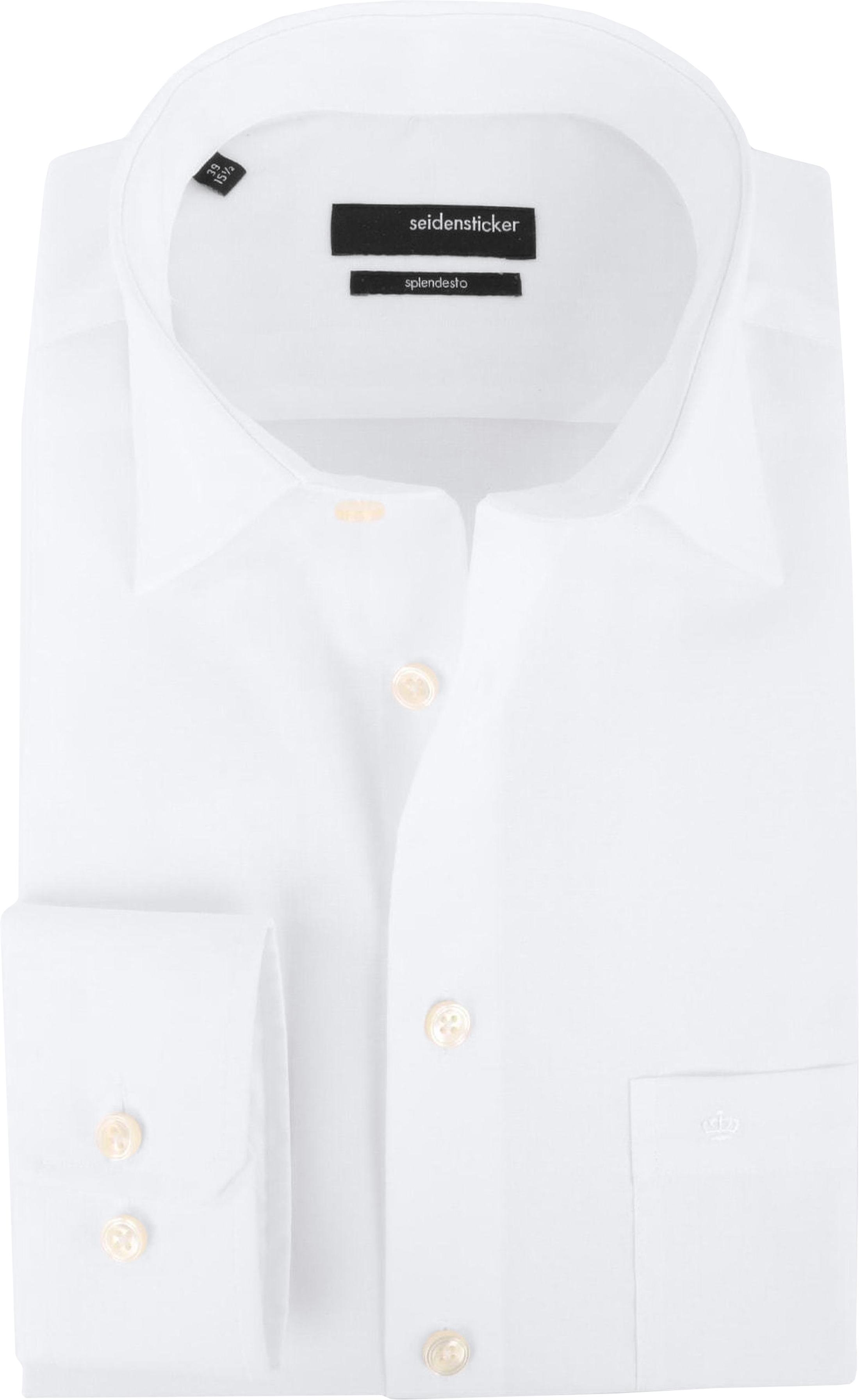 Seidensticker Splendesto Overhemd Wit foto 0
