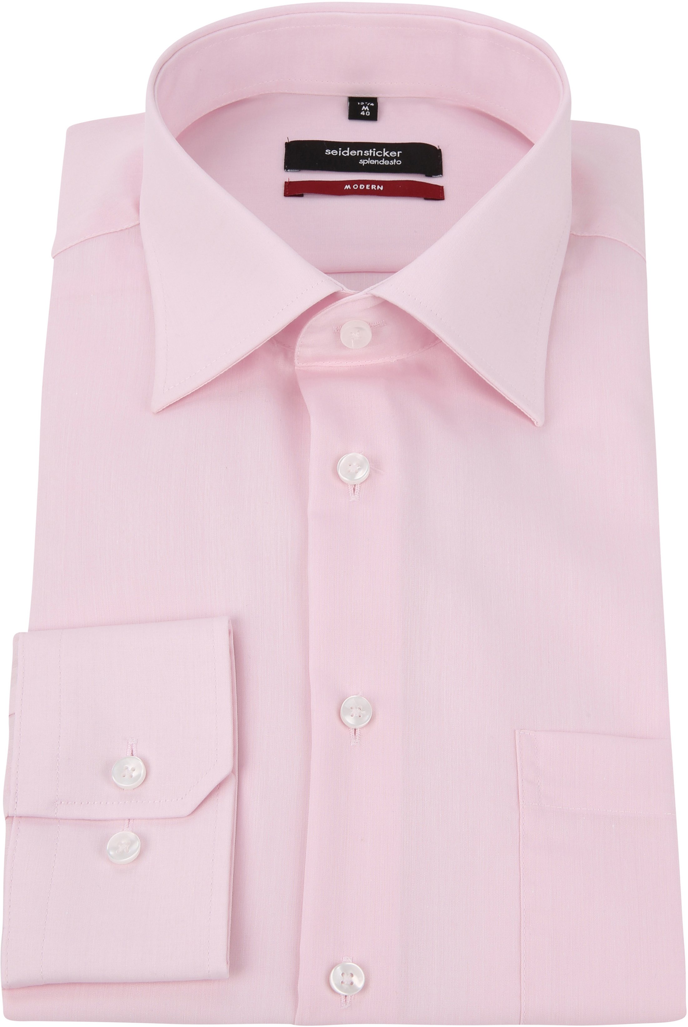 Seidensticker Splendesto Shirt Roze photo 2