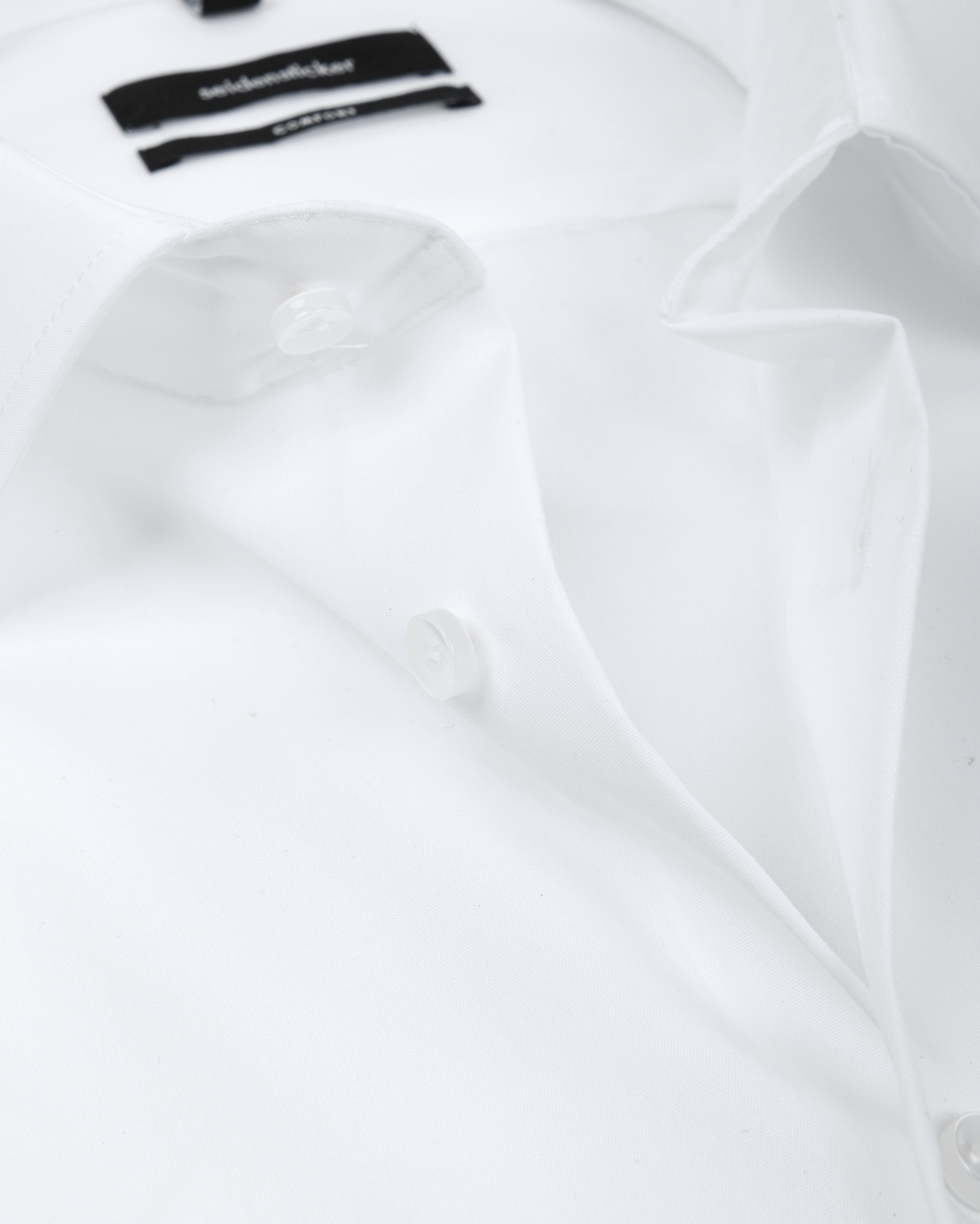 Seidensticker Strijkvrij Comfort-Fit Wit SS foto 1