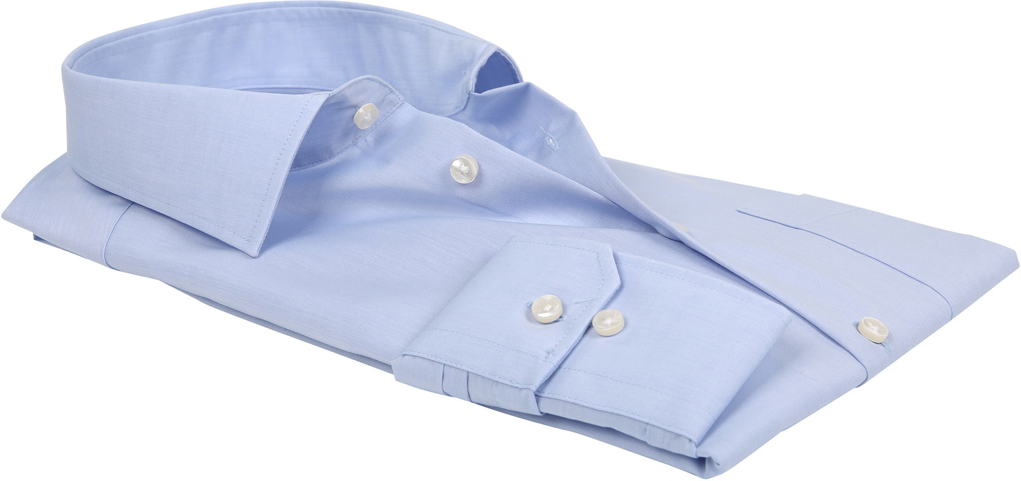 Seidensticker Strijkvrij Lichtblauw Comfort-Fit foto 2