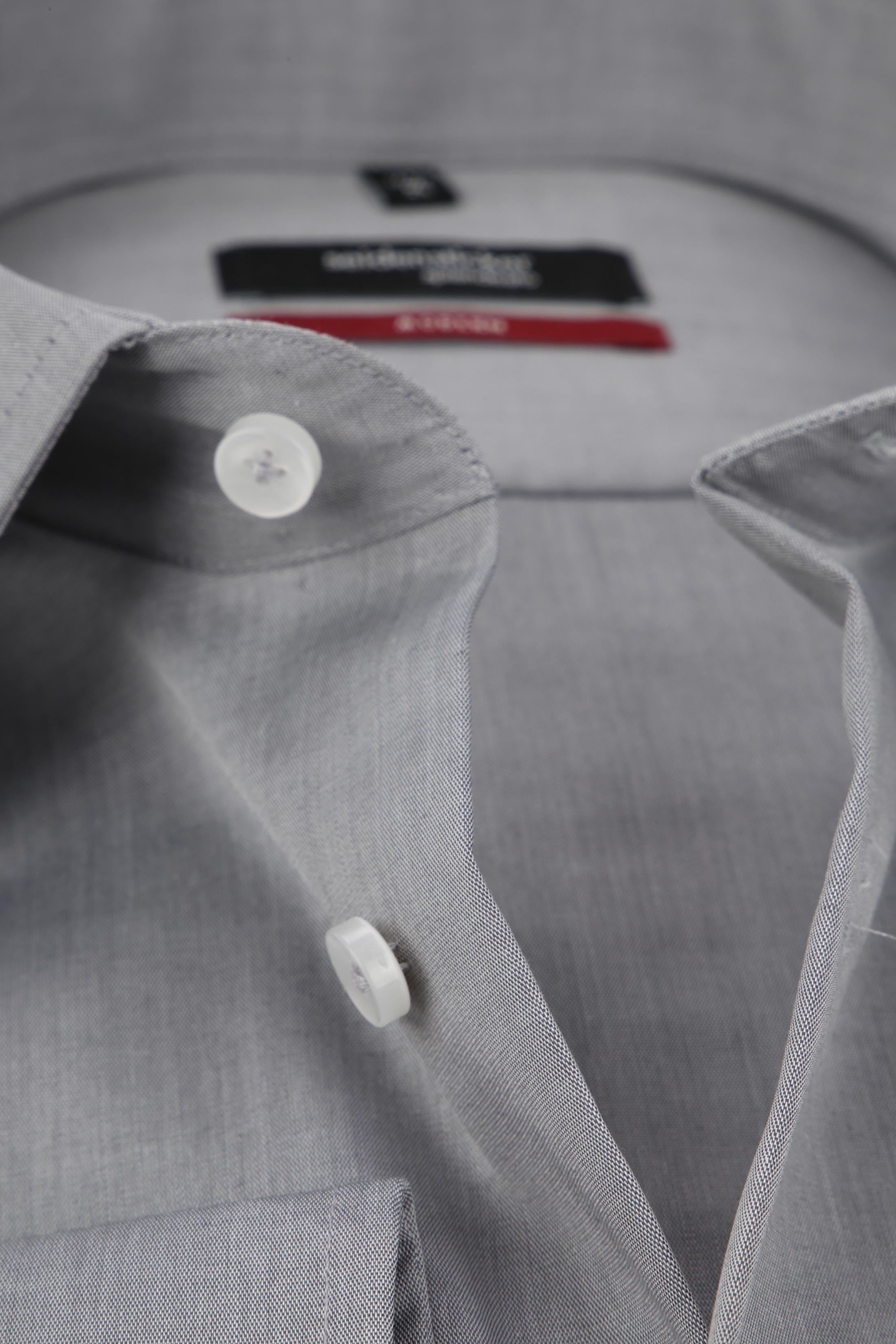 Seidensticker Strijkvrij Overhemd Grijs foto 1