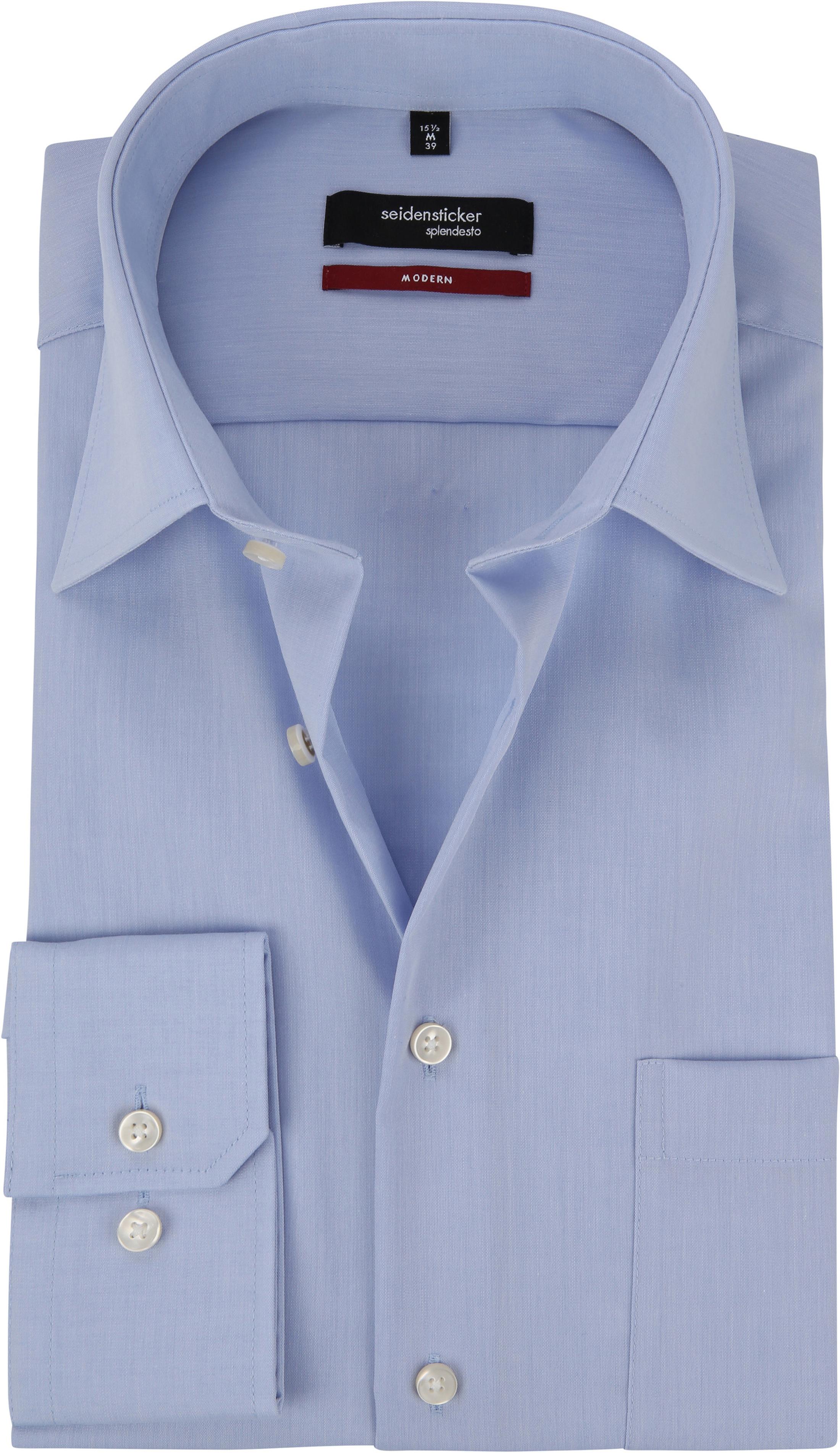 Seidensticker Strijkvrij Overhemd Lichtblauw foto 0