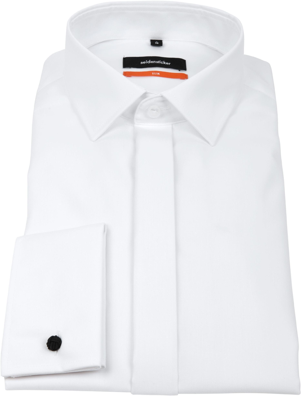 Seidensticker Tuxedo Shirt Kent White foto 3