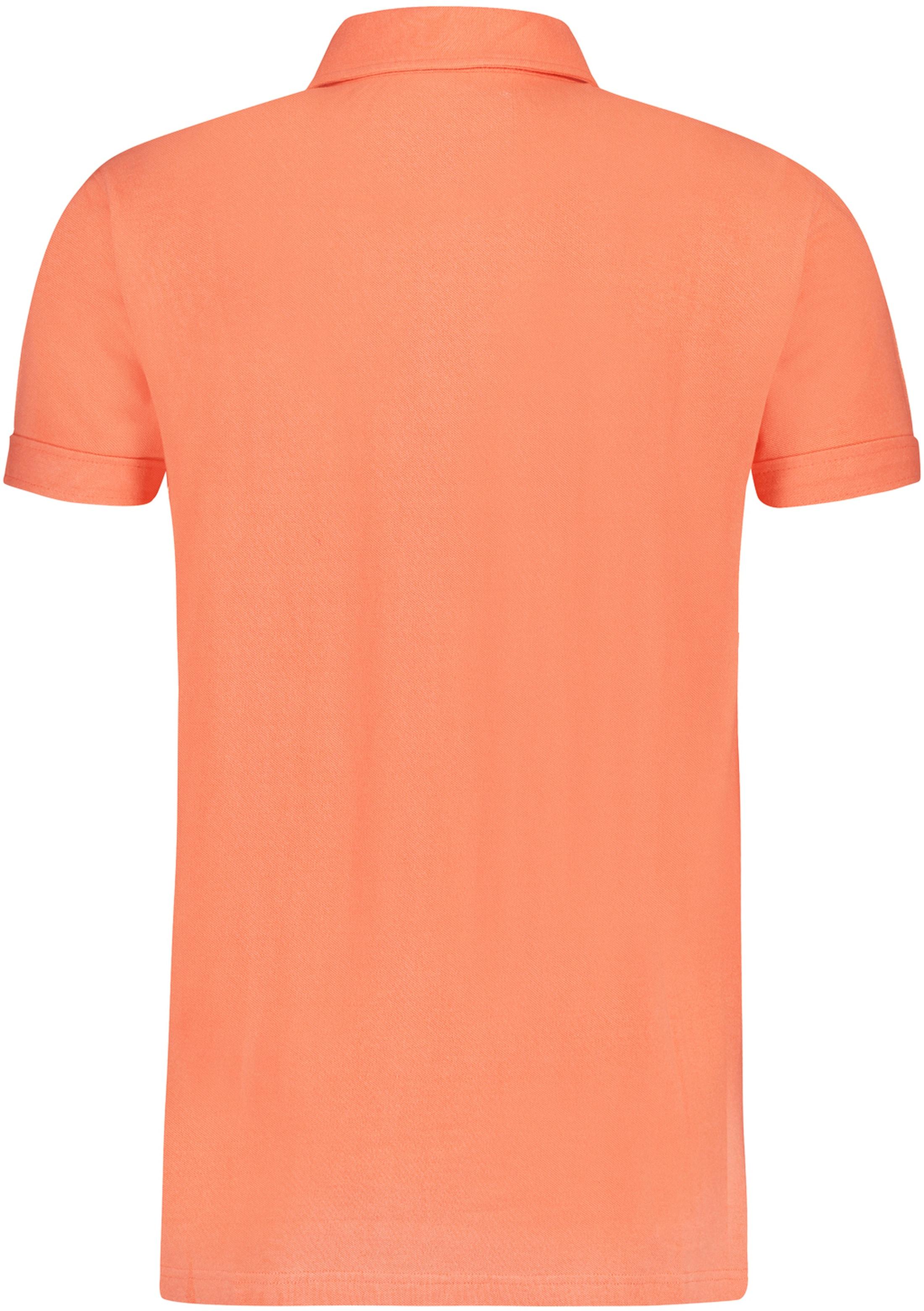 Shiwi Poloshirt Men Neonorange foto 1