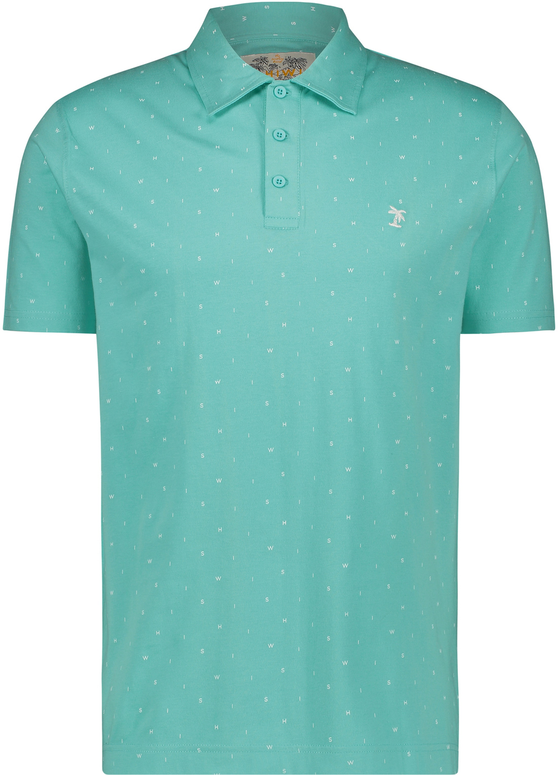 Shiwi Poloshirt Minishiwi Turquoise foto 0