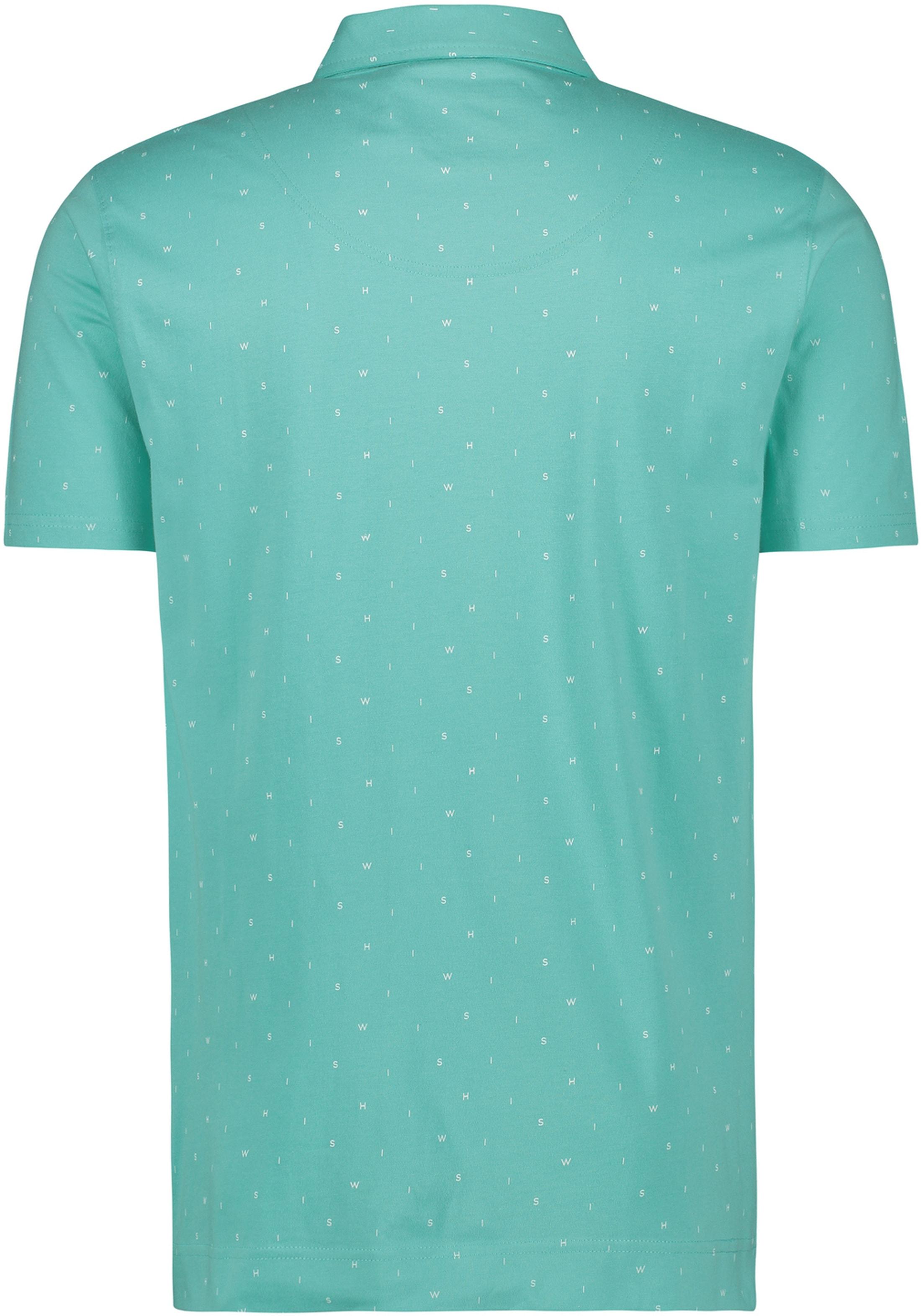 Shiwi Poloshirt Minishiwi Turquoise foto 1