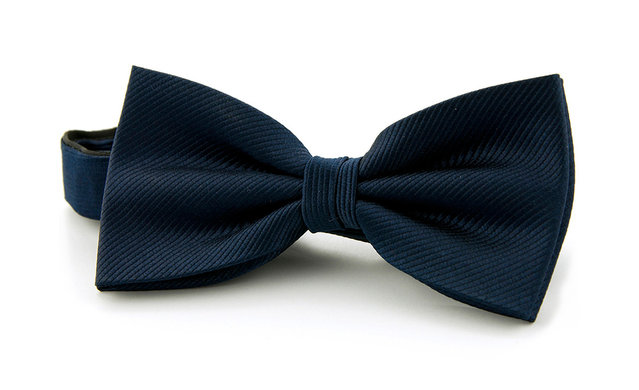 Silk Bow Tie Navy F35 foto 0