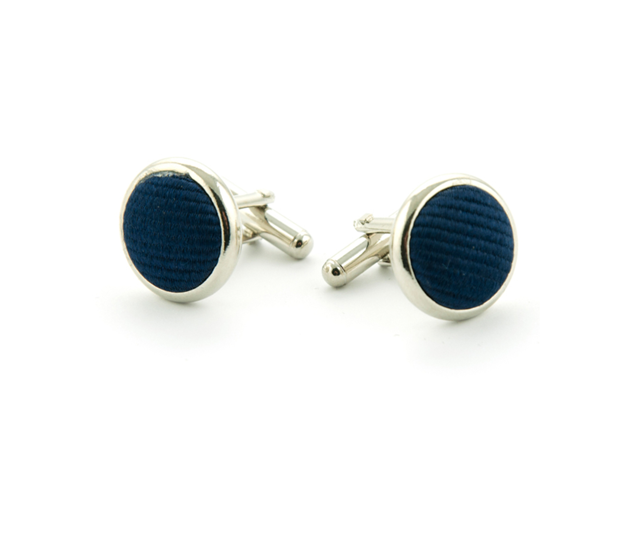 Silk Cufflinks  Navy F35 foto 0