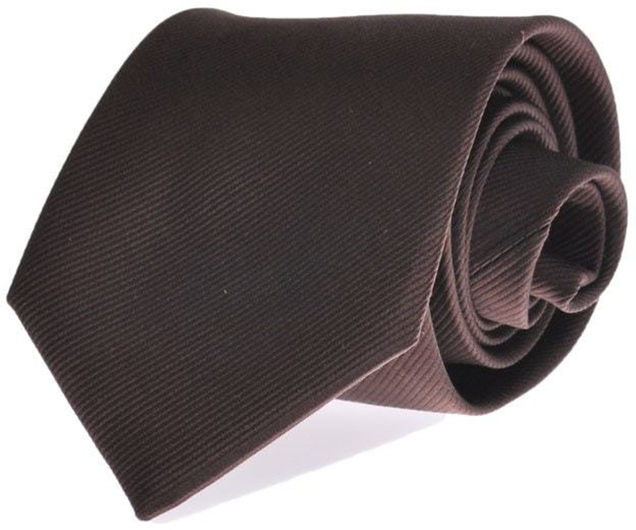 Silk Tie Brown F45 foto 0