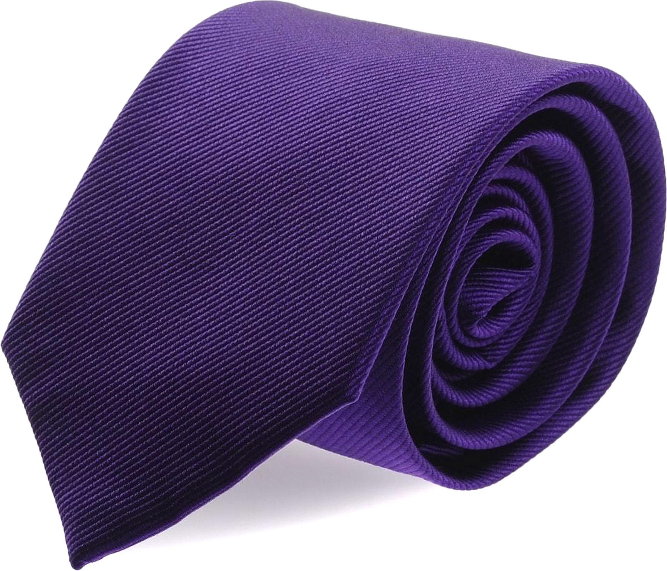 Silk Tie Deep Purple F55
