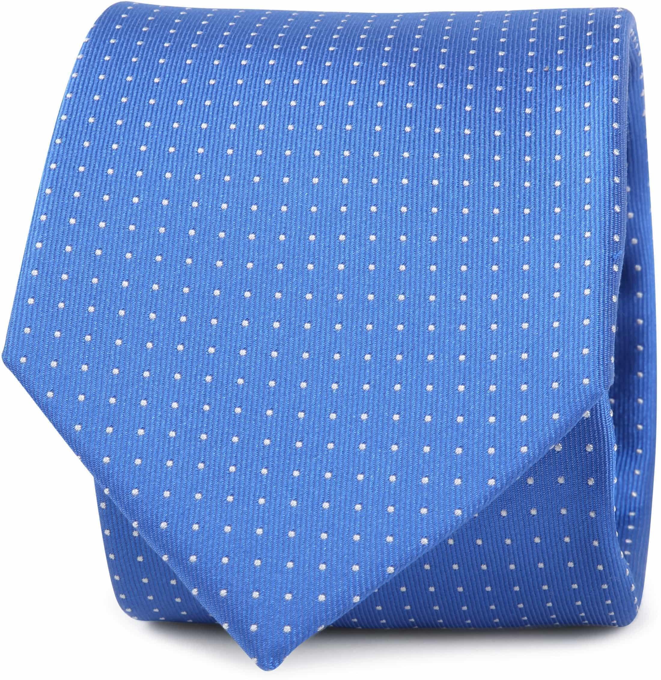 Silk Tie Dots Blue foto 0
