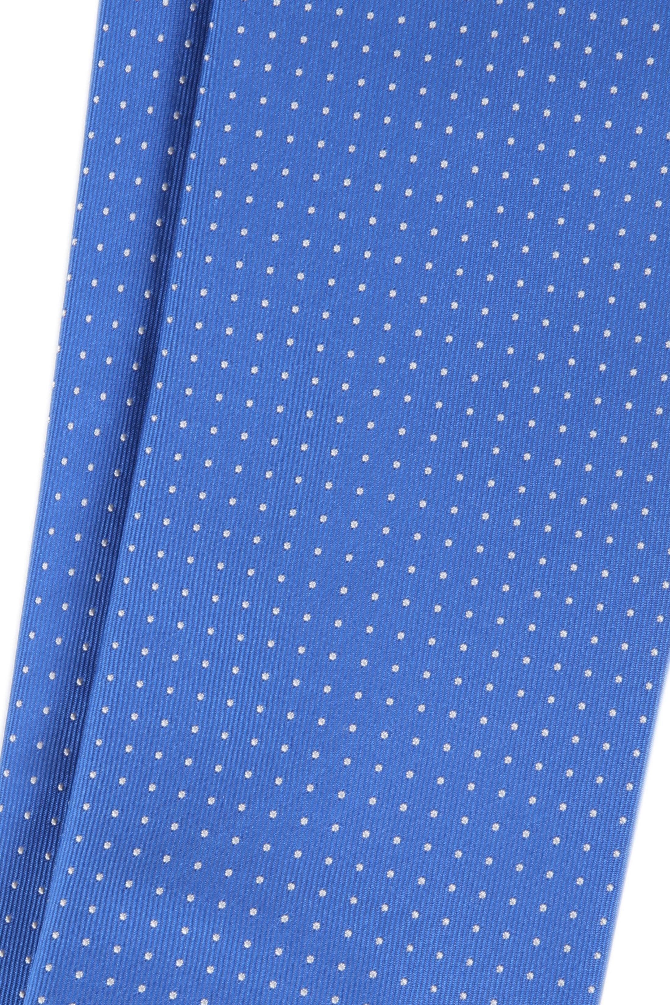 Silk Tie Dots Blue foto 1