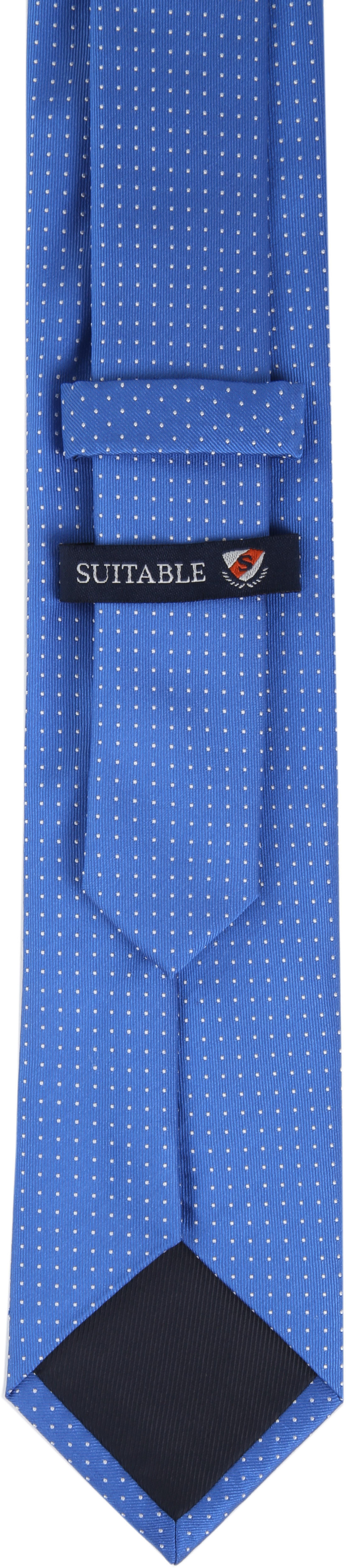 Silk Tie Dots Blue foto 3