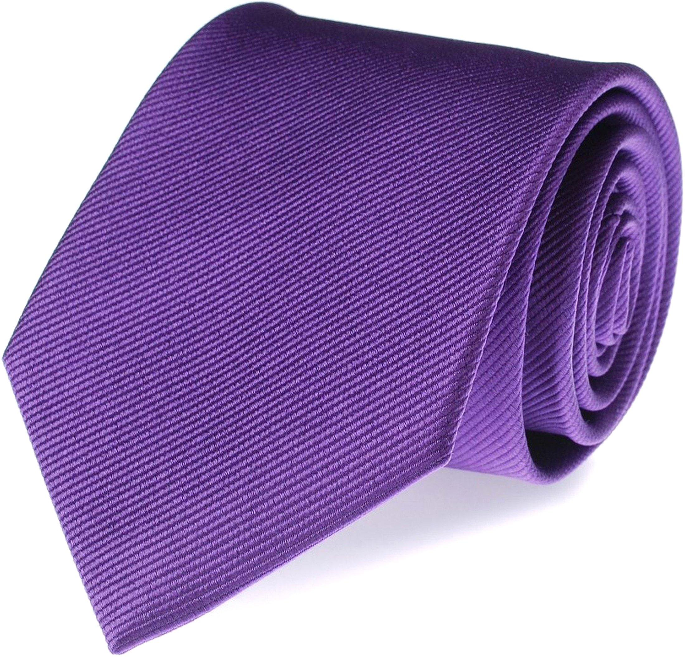 Silk Tie Purple F30