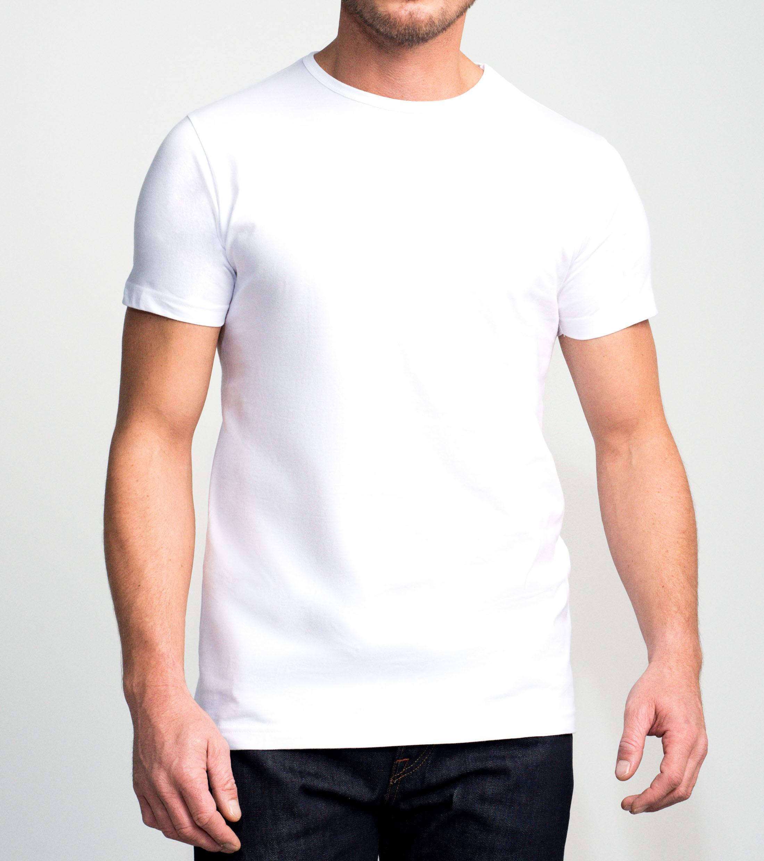 Slater 2-pack Basic Fit T-shirt Wit foto 2