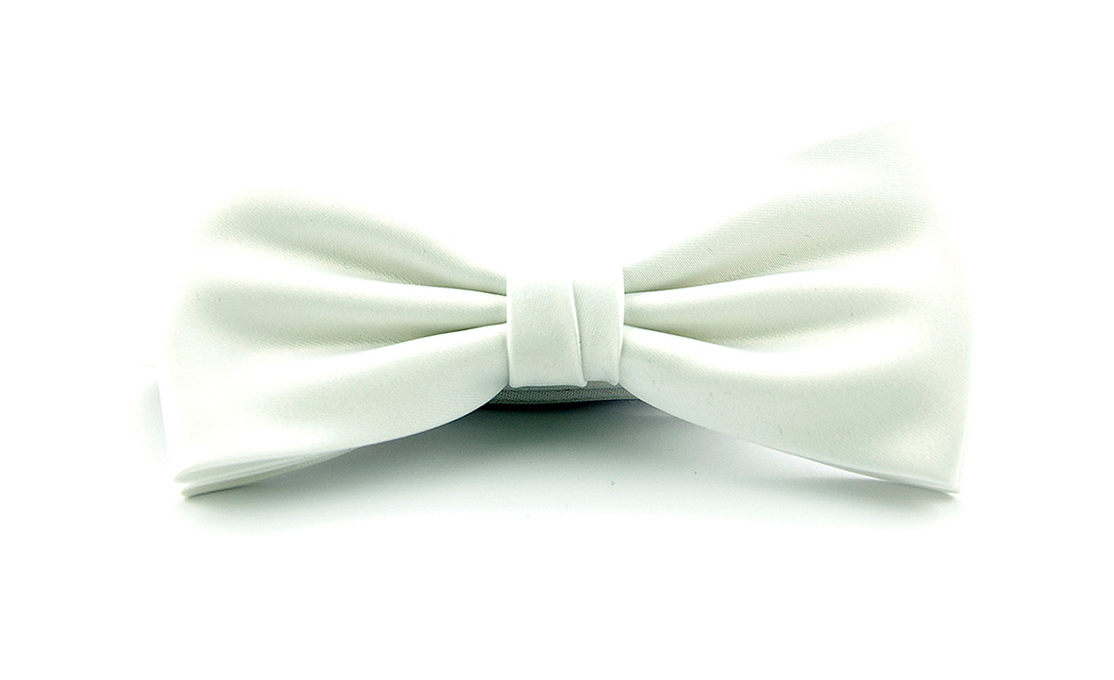Smoking Bow Tie White