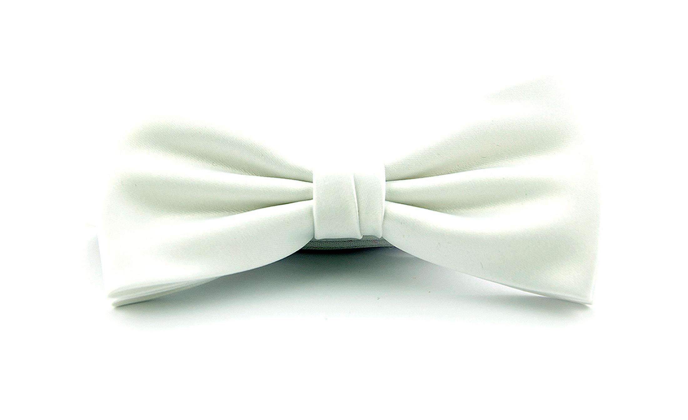 Smoking Bow Tie White