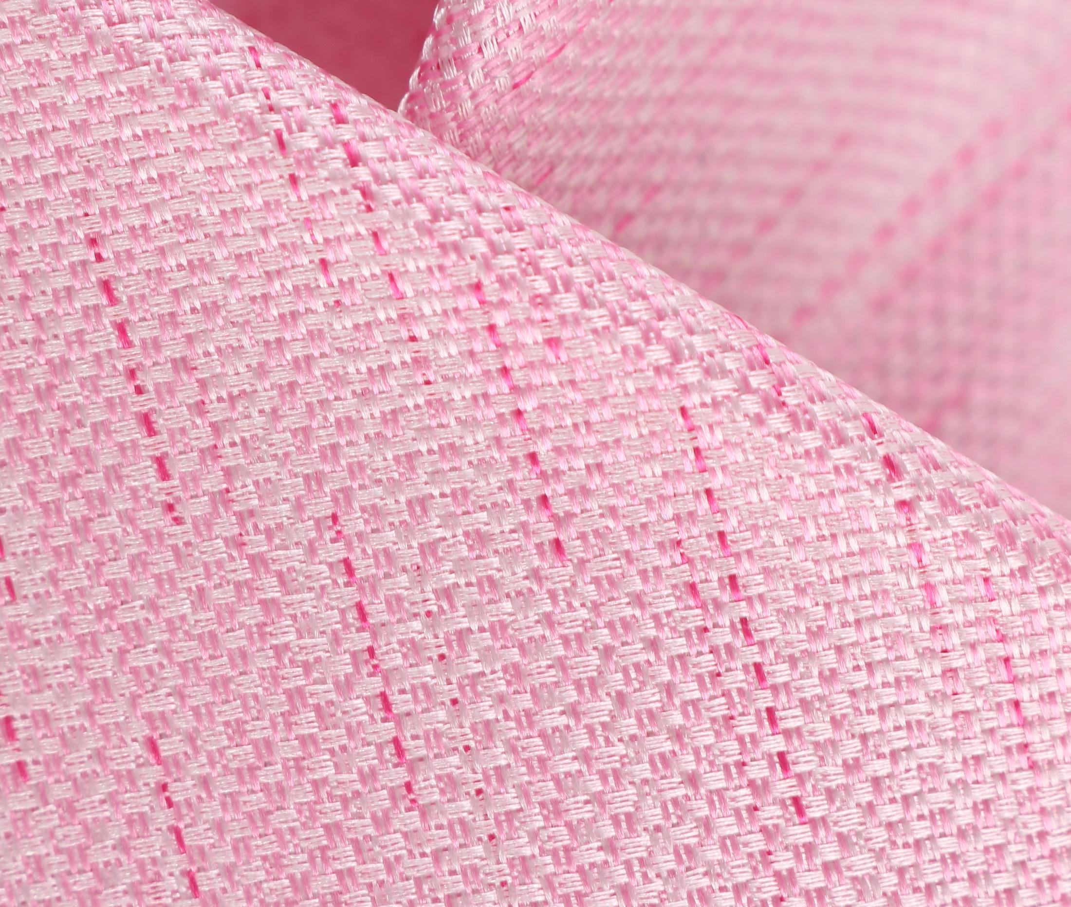 Stropdas Zijde Roze Motief foto 1
