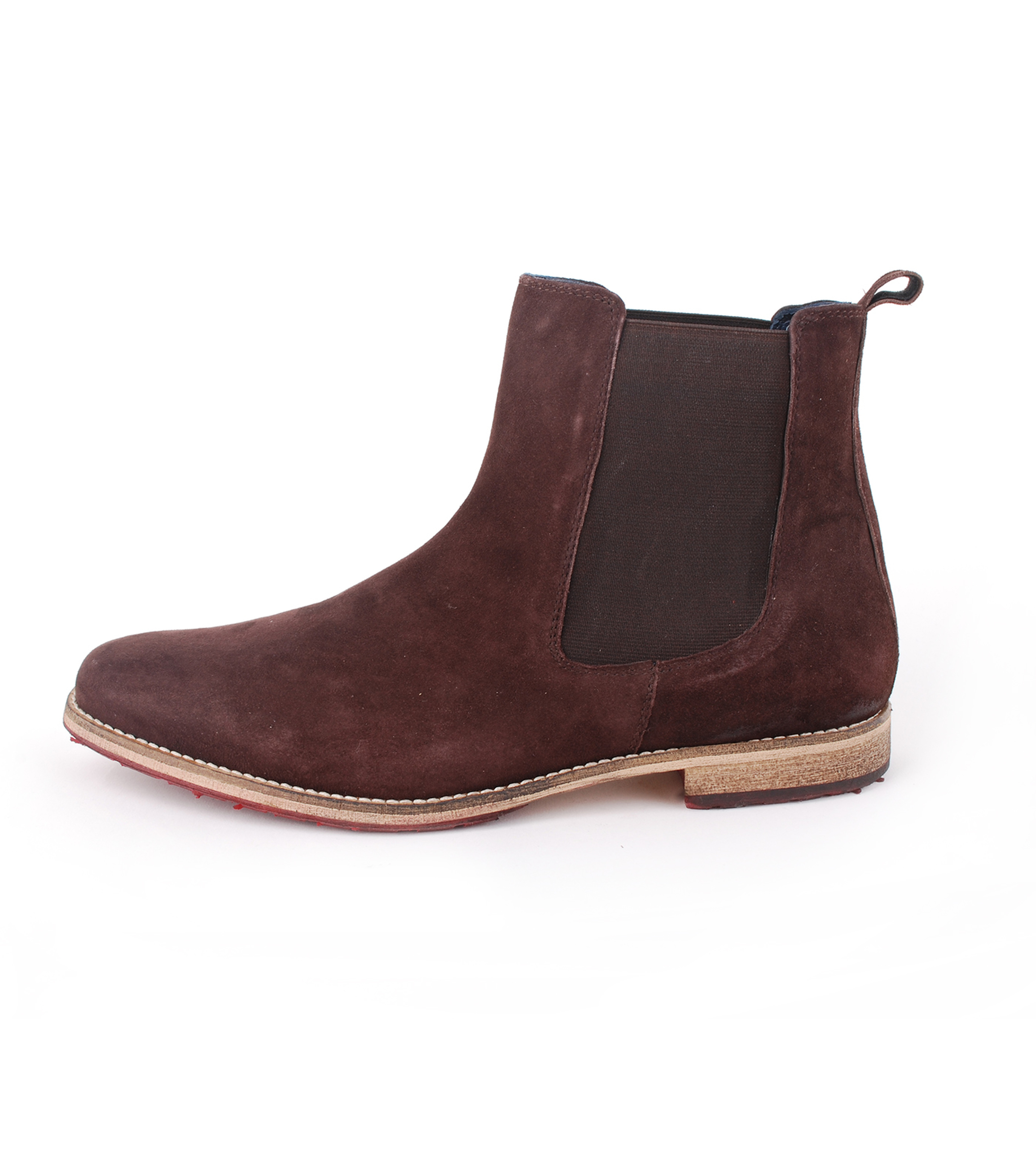 Suede Boots Chelsea Braun foto 2