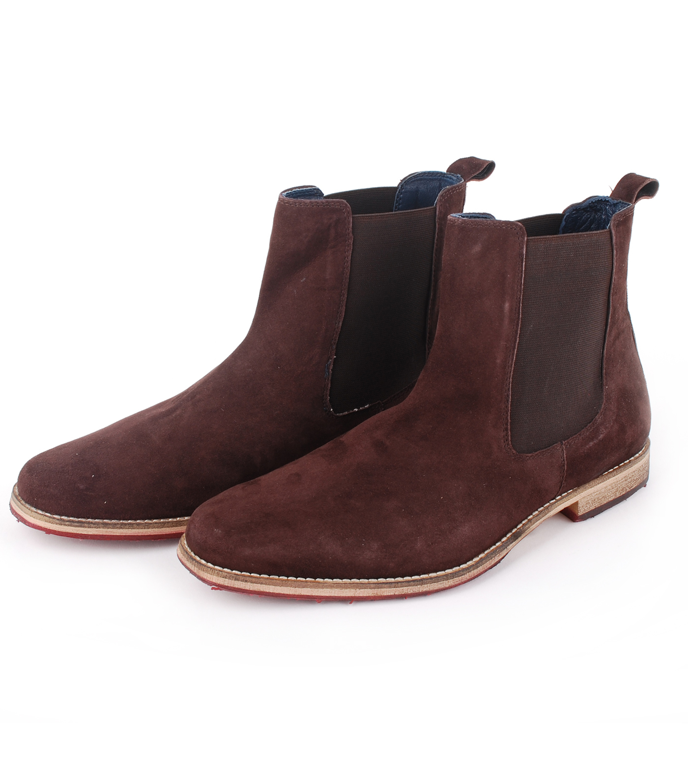 Suede Boots Chelsea Brown foto 0
