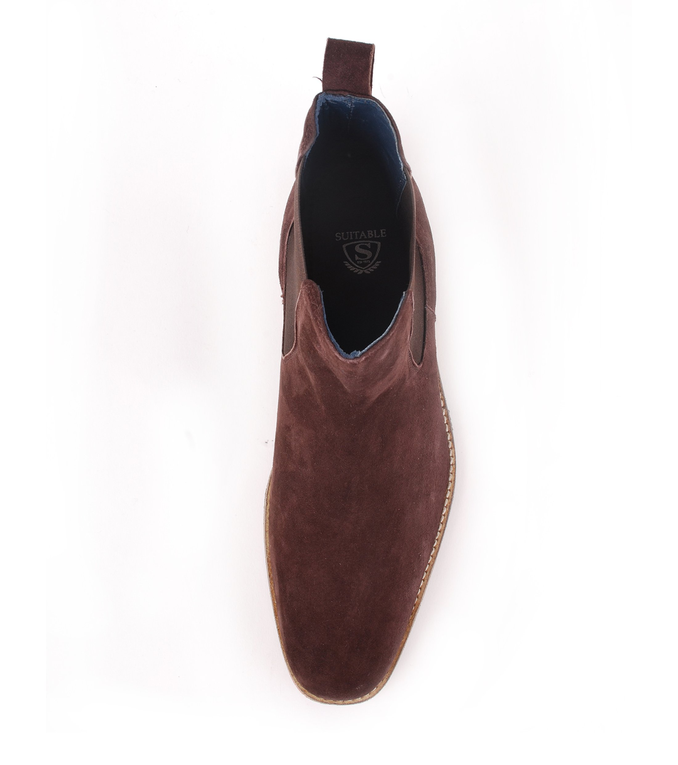 Suede Boots Chelsea Brown foto 1