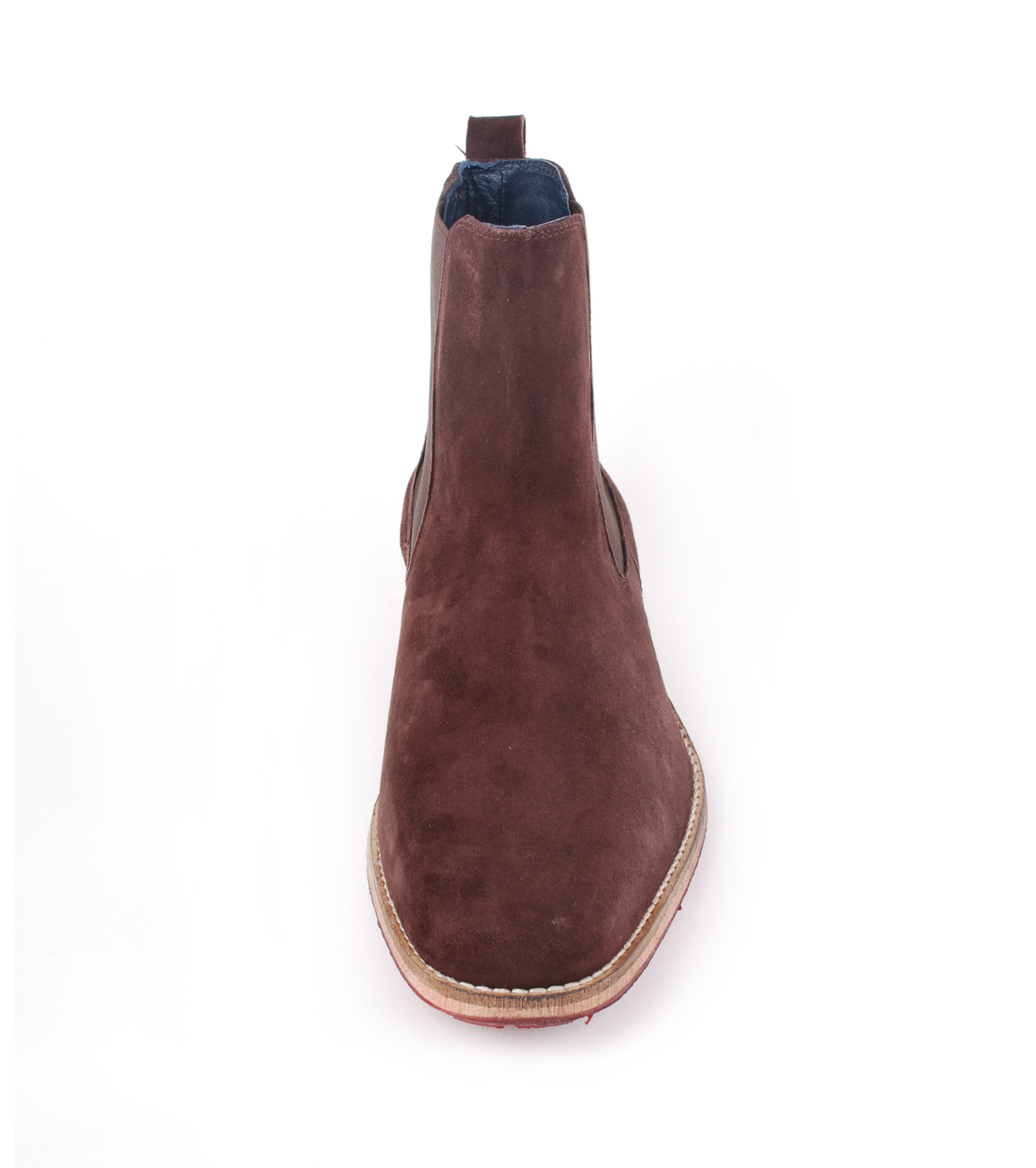 Suede Boots Chelsea Brown foto 3